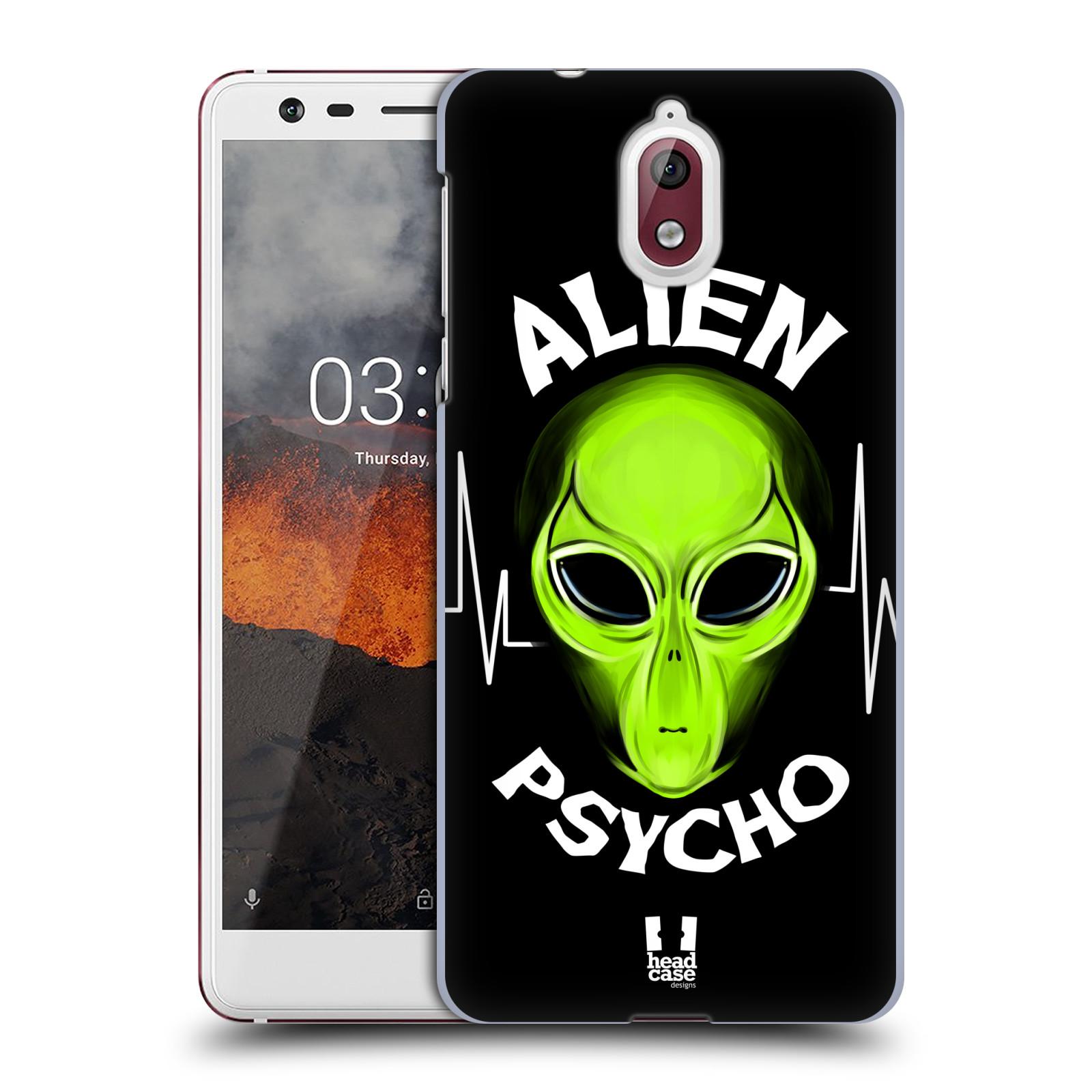 Plastové pouzdro na mobil Nokia 3.1 - Head Case - ALIENS PSYCHO