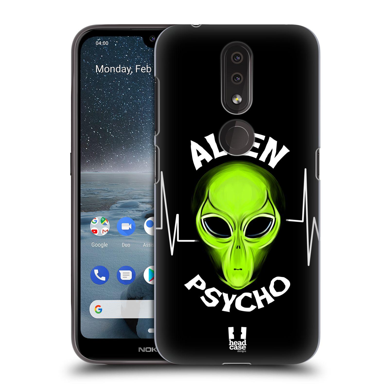 Plastové pouzdro na mobil Nokia 4.2 - Head Case - ALIENS PSYCHO