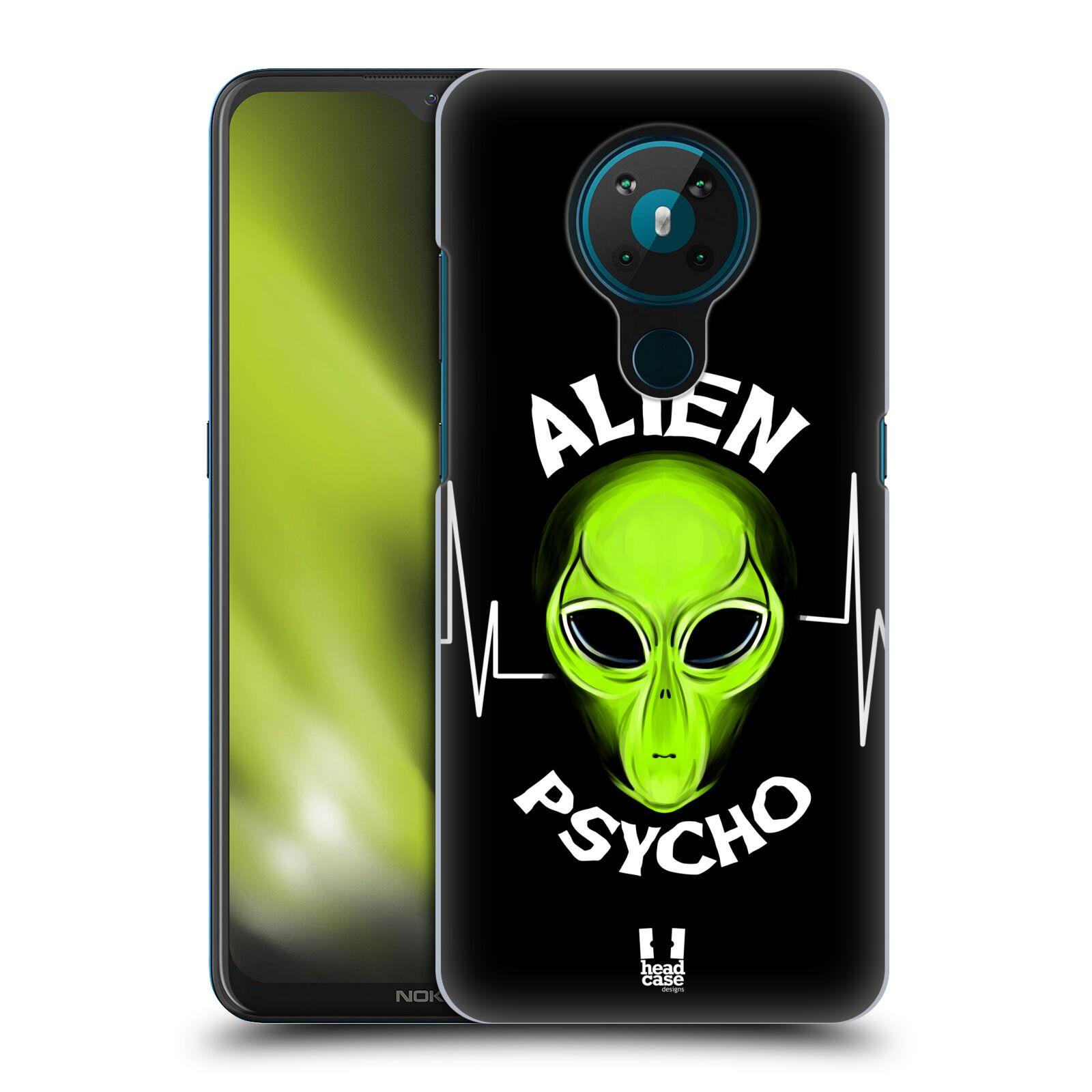 Plastové pouzdro na mobil Nokia 5.3 - Head Case - ALIENS PSYCHO