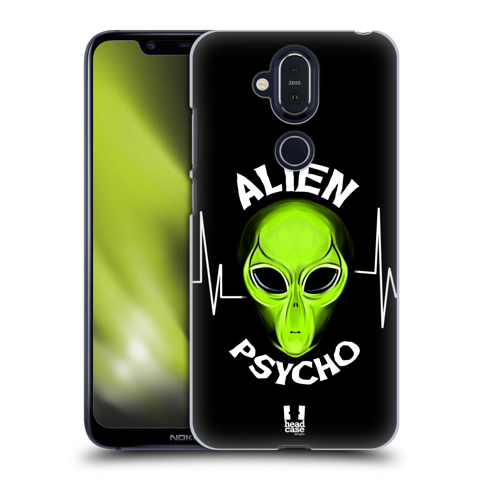 Plastové pouzdro na mobil Nokia 8.1 - Head Case - ALIENS PSYCHO