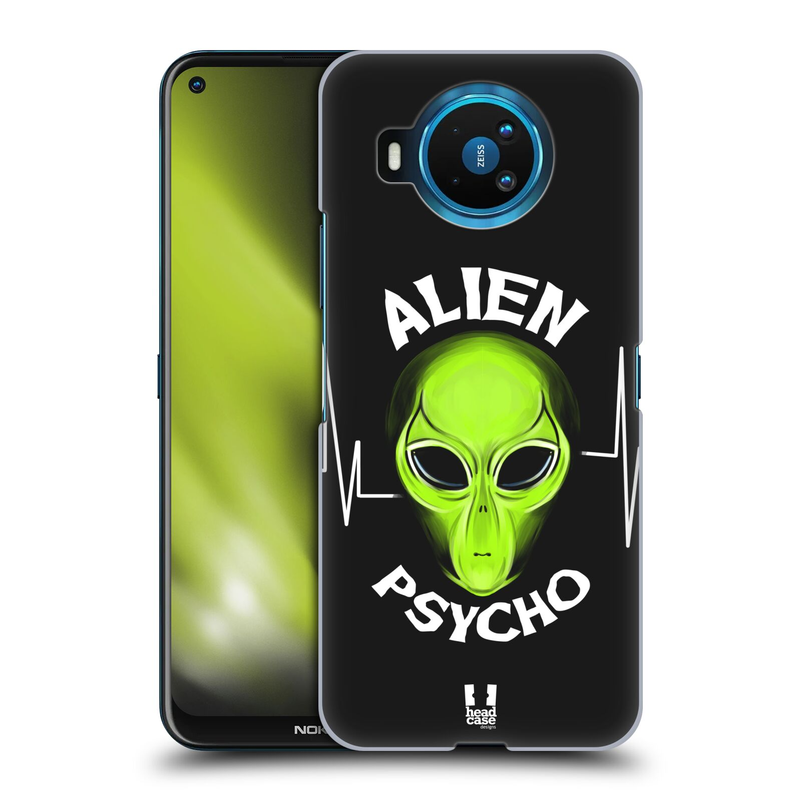 Plastové pouzdro na mobil Nokia 8.3 5G - Head Case - ALIENS PSYCHO