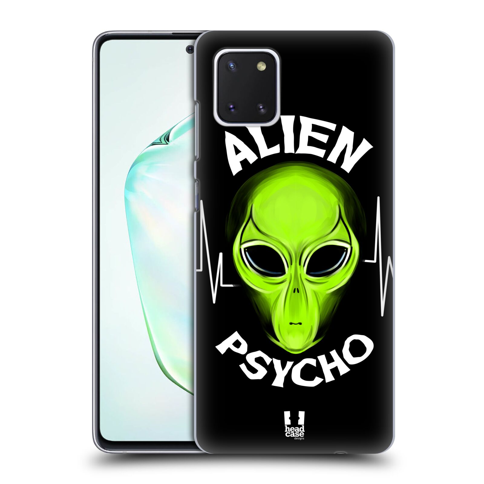 Plastové pouzdro na mobil Samsung Galaxy Note 10 Lite - Head Case - ALIENS PSYCHO