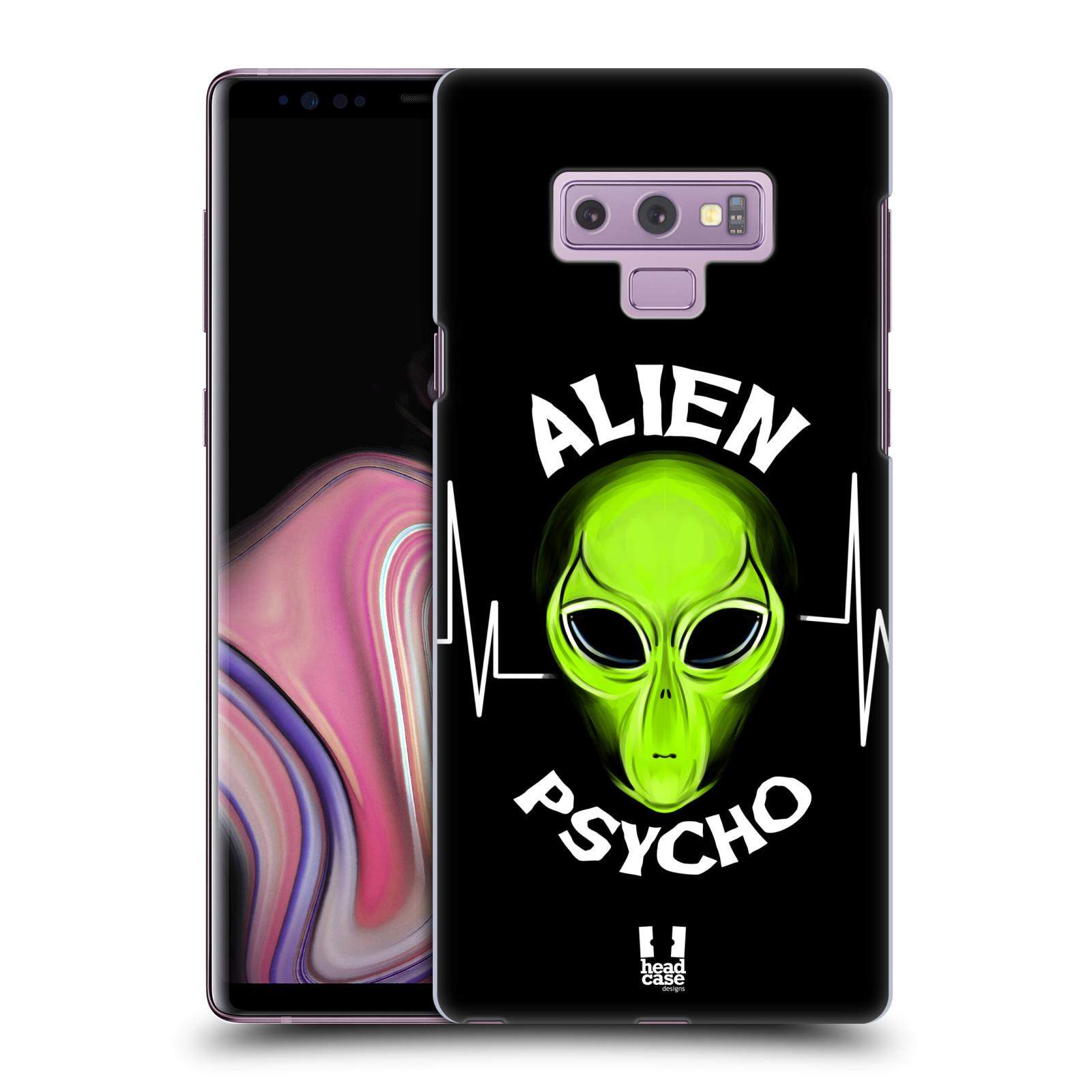 Plastové pouzdro na mobil Samsung Galaxy Note 9 - Head Case - ALIENS PSYCHO