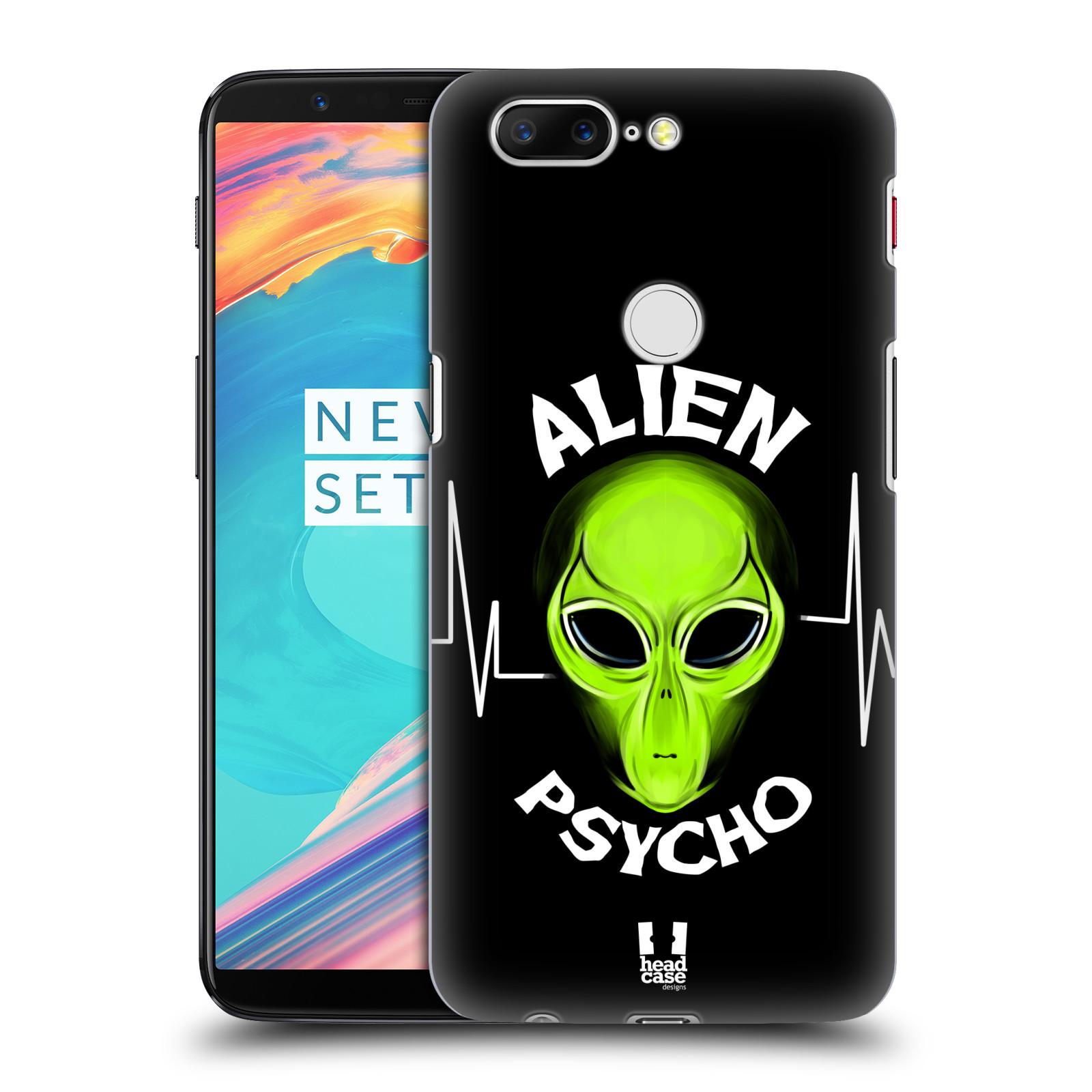 Plastové pouzdro na mobil OnePlus 5T - Head Case - ALIENS PSYCHO