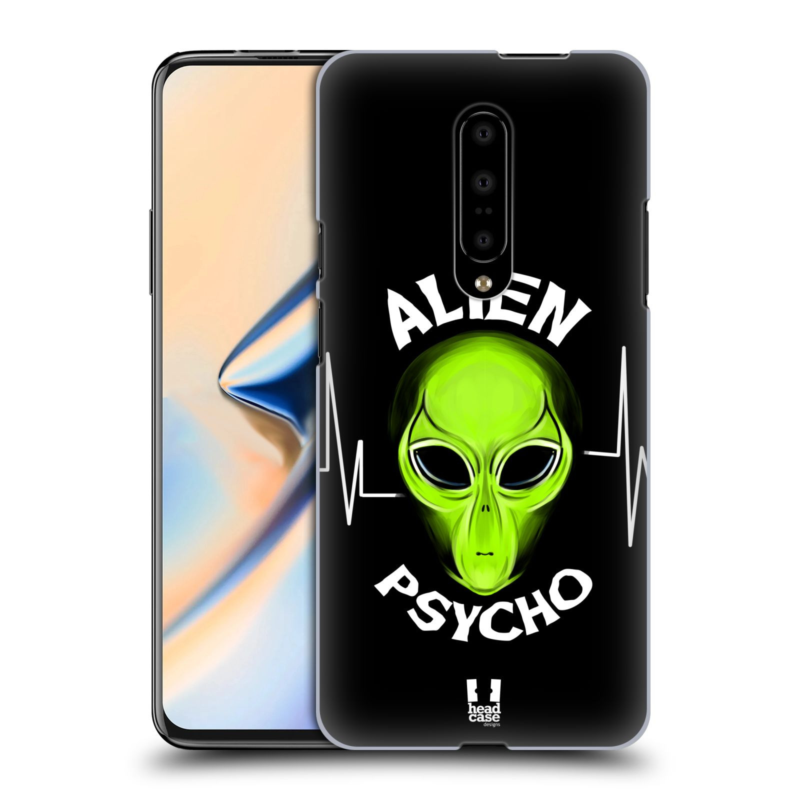 Plastové pouzdro na mobil OnePlus 7 - Head Case - ALIENS PSYCHO