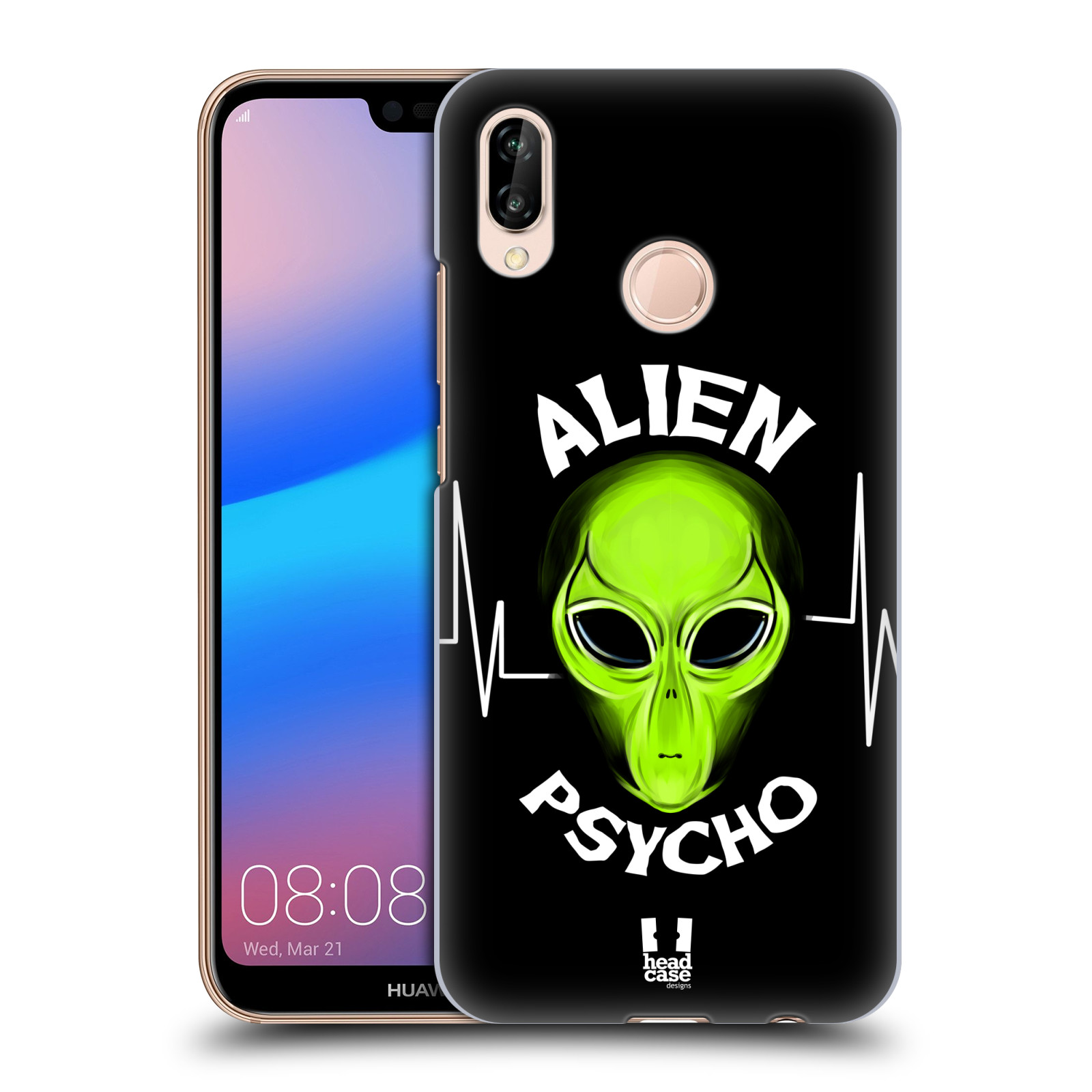 Plastové pouzdro na mobil Huawei P20 Lite - Head Case - ALIENS PSYCHO