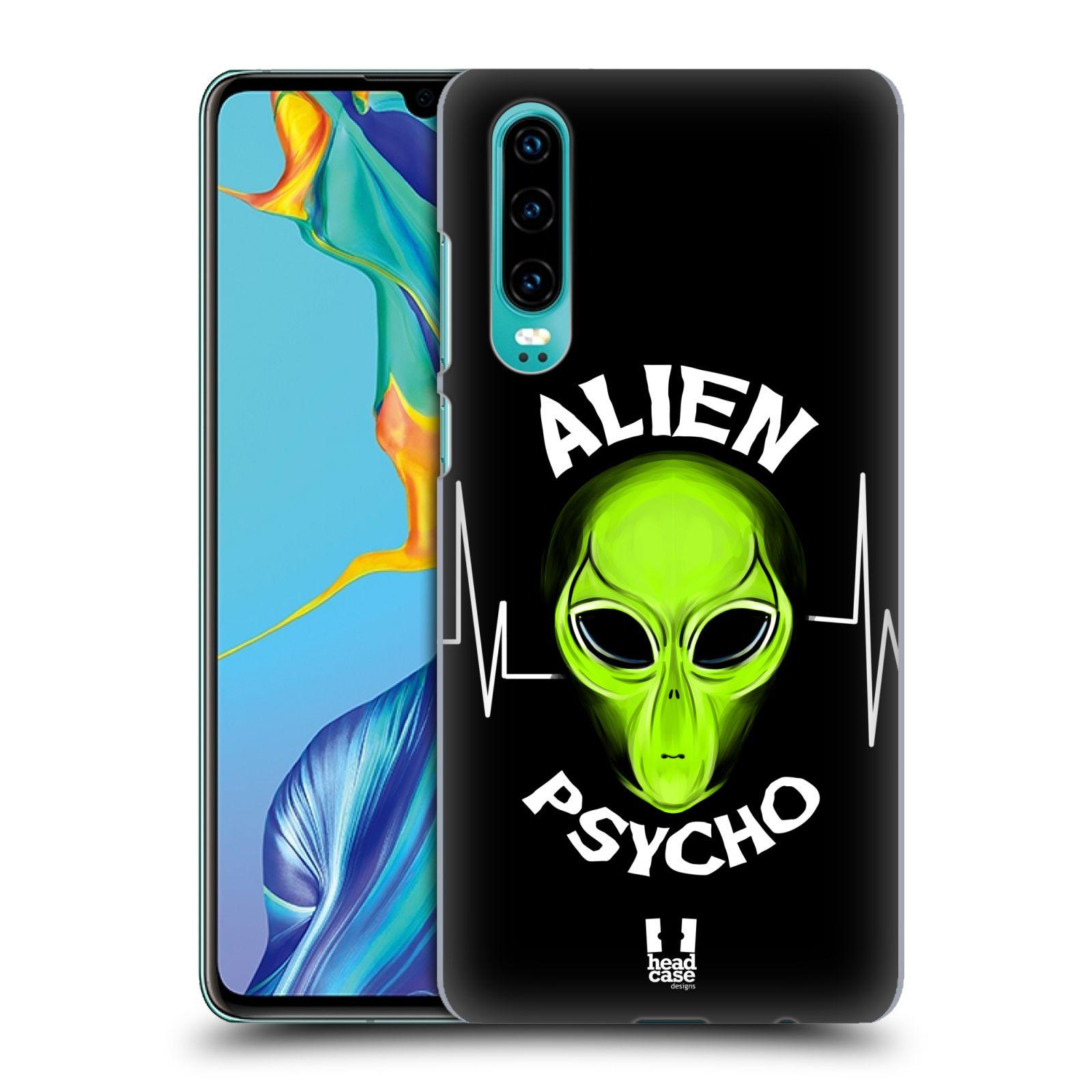 Plastové pouzdro na mobil Huawei P30 - Head Case - ALIENS PSYCHO
