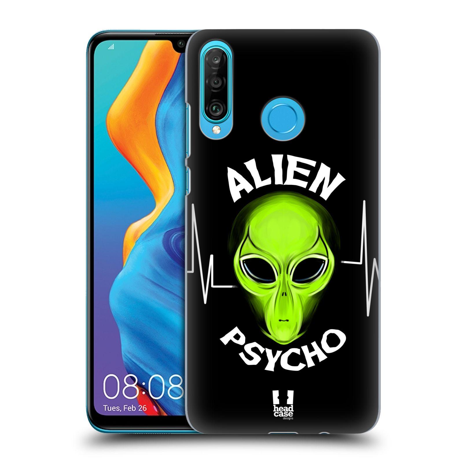 Plastové pouzdro na mobil Huawei P30 Lite - Head Case - ALIENS PSYCHO