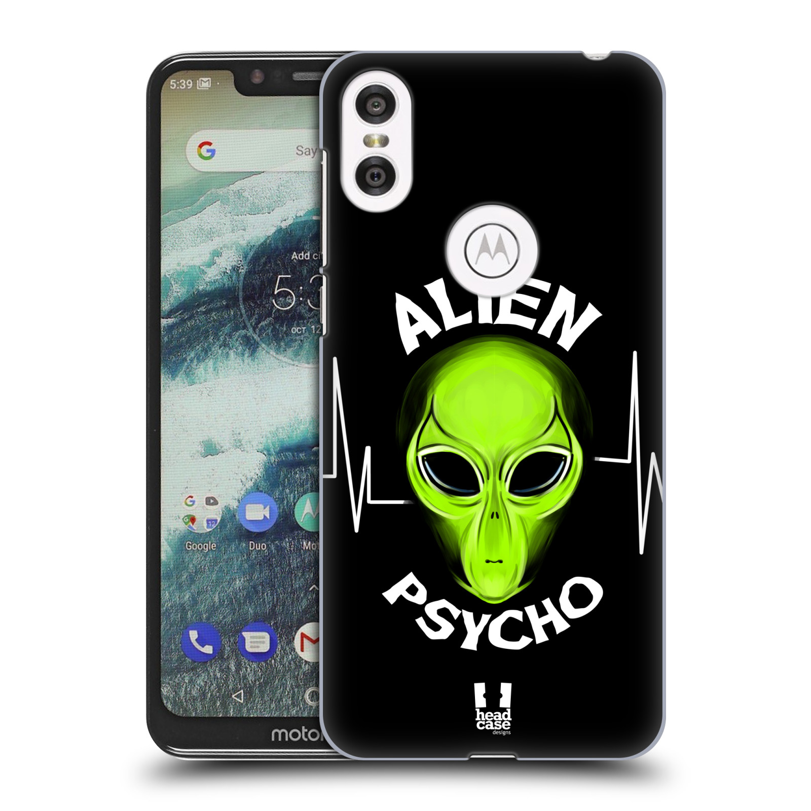 Plastové pouzdro na mobil Motorola One - Head Case - ALIENS PSYCHO