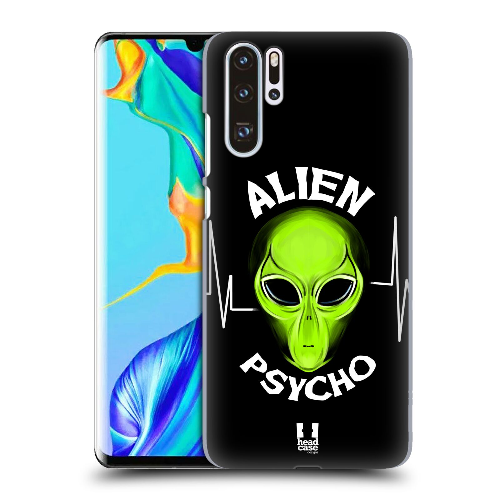 Plastové pouzdro na mobil Huawei P30 Pro - Head Case - ALIENS PSYCHO