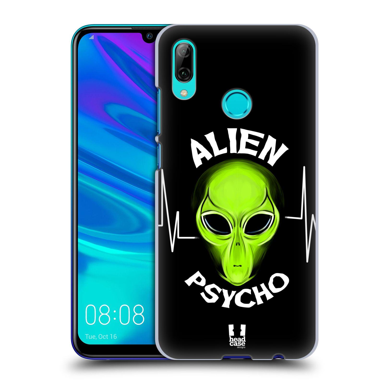 Plastové pouzdro na mobil Huawei P Smart (2019) - Head Case - ALIENS PSYCHO