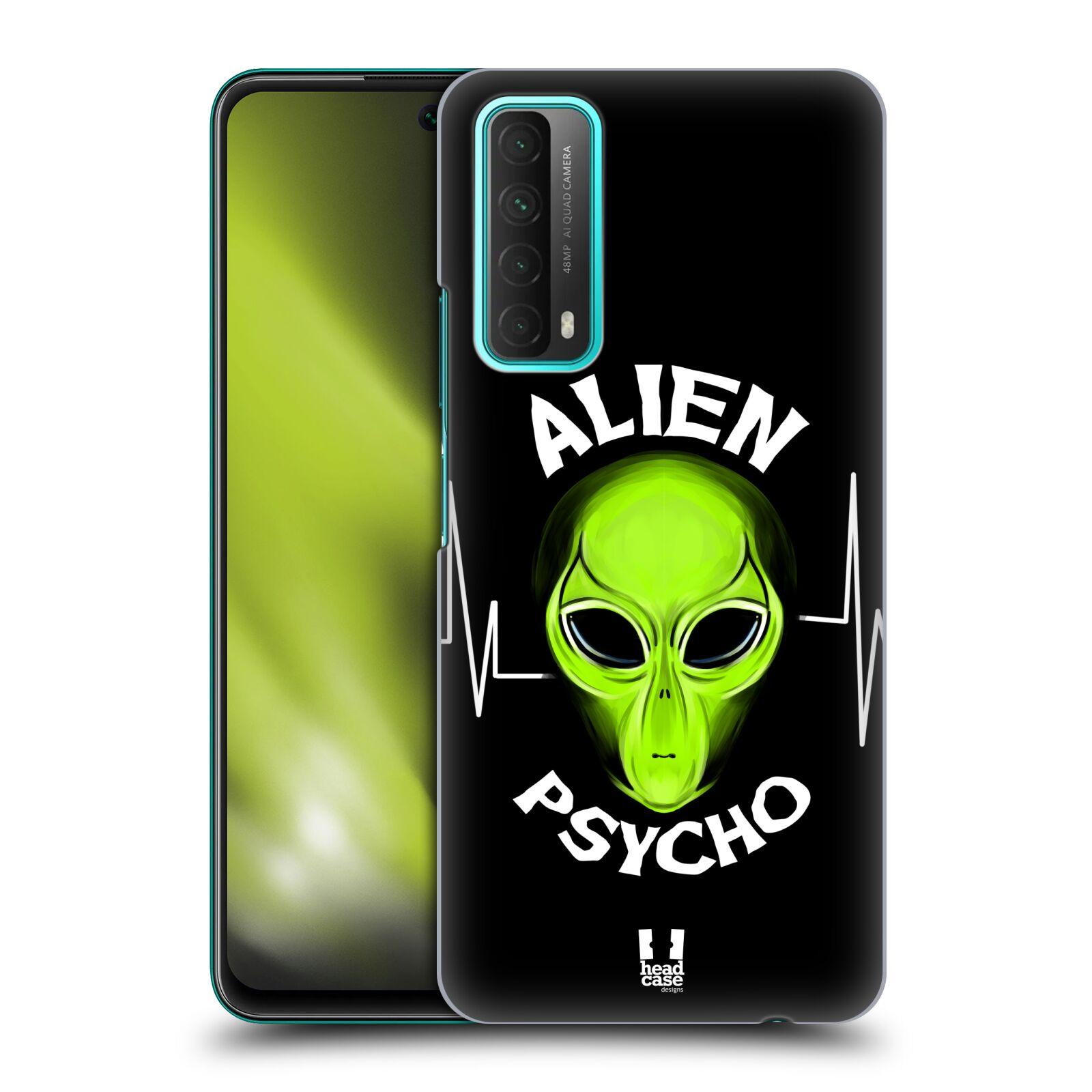 Plastové pouzdro na mobil Huawei P Smart (2021) - Head Case - ALIENS PSYCHO