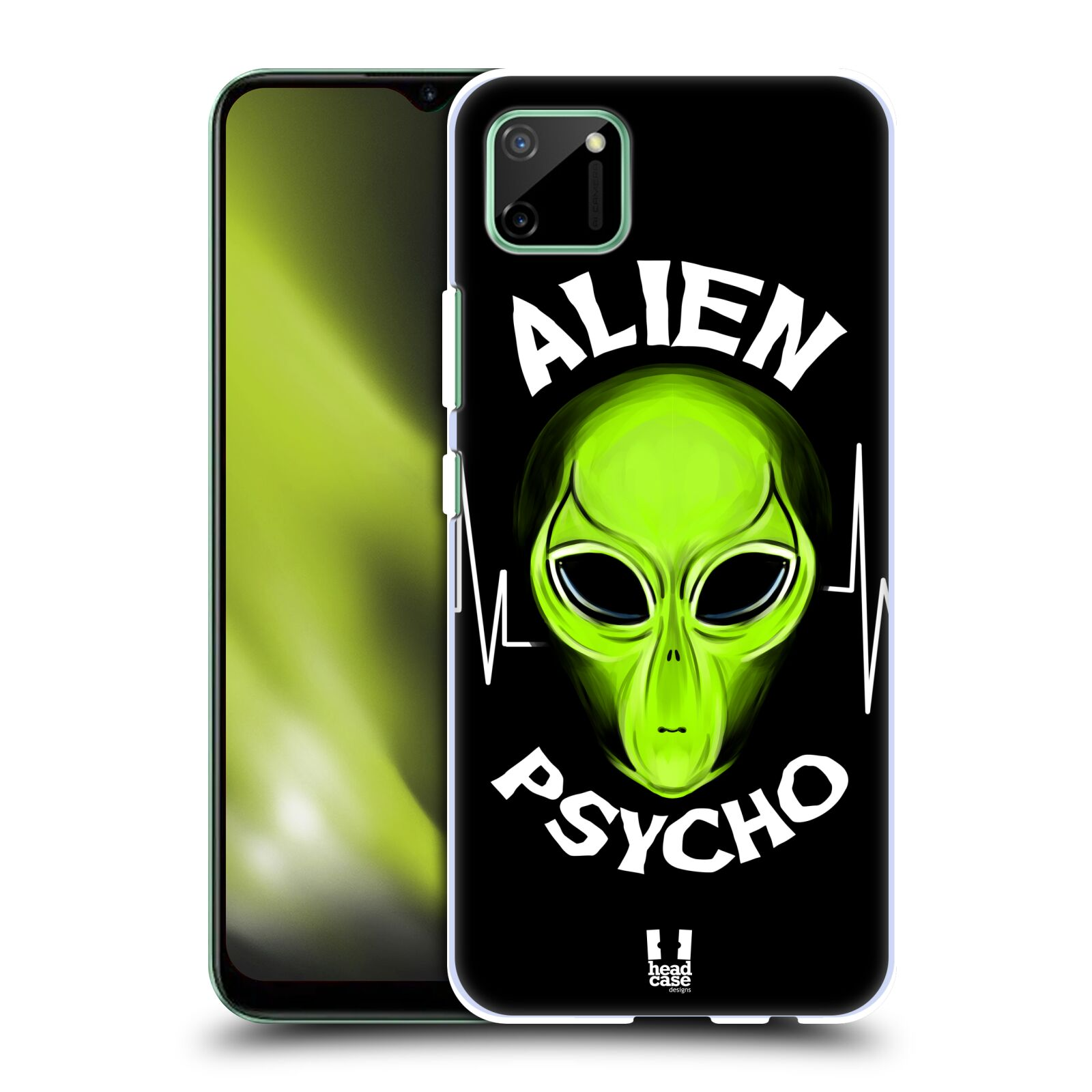Plastové pouzdro na mobil Realme C11 - Head Case - ALIENS PSYCHO