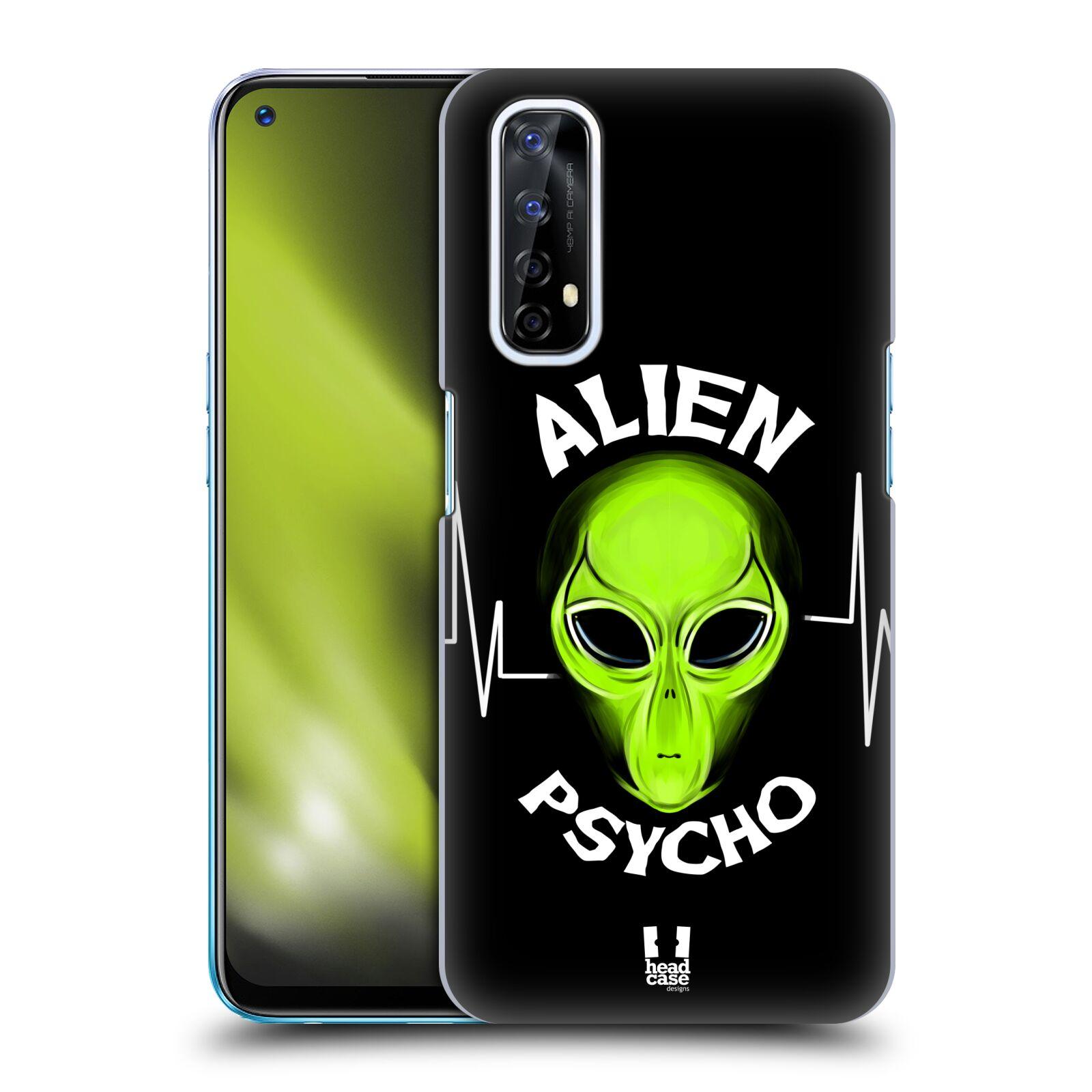 Plastové pouzdro na mobil Realme 7 - Head Case - ALIENS PSYCHO