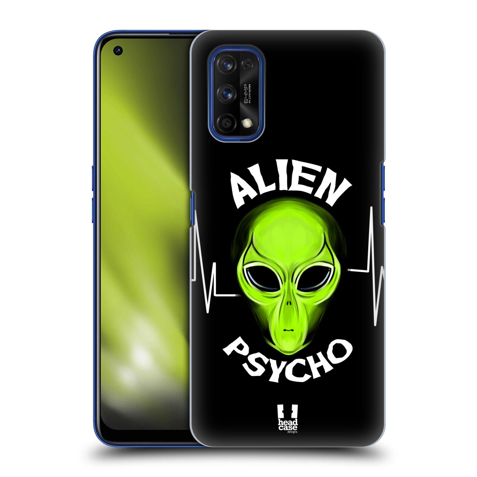 Plastové pouzdro na mobil Realme 7 Pro - Head Case - ALIENS PSYCHO