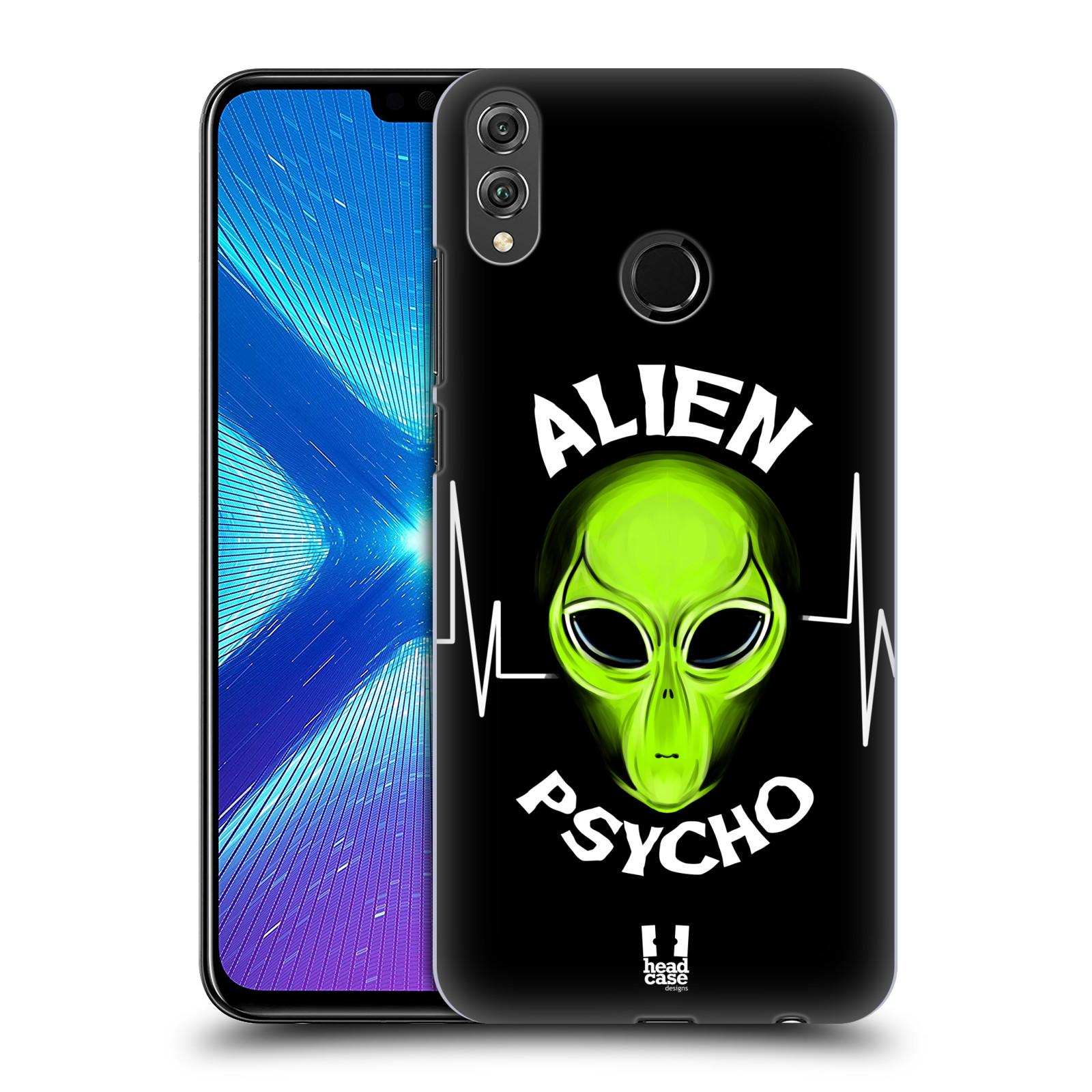 Plastové pouzdro na mobil Honor 8X - Head Case - ALIENS PSYCHO