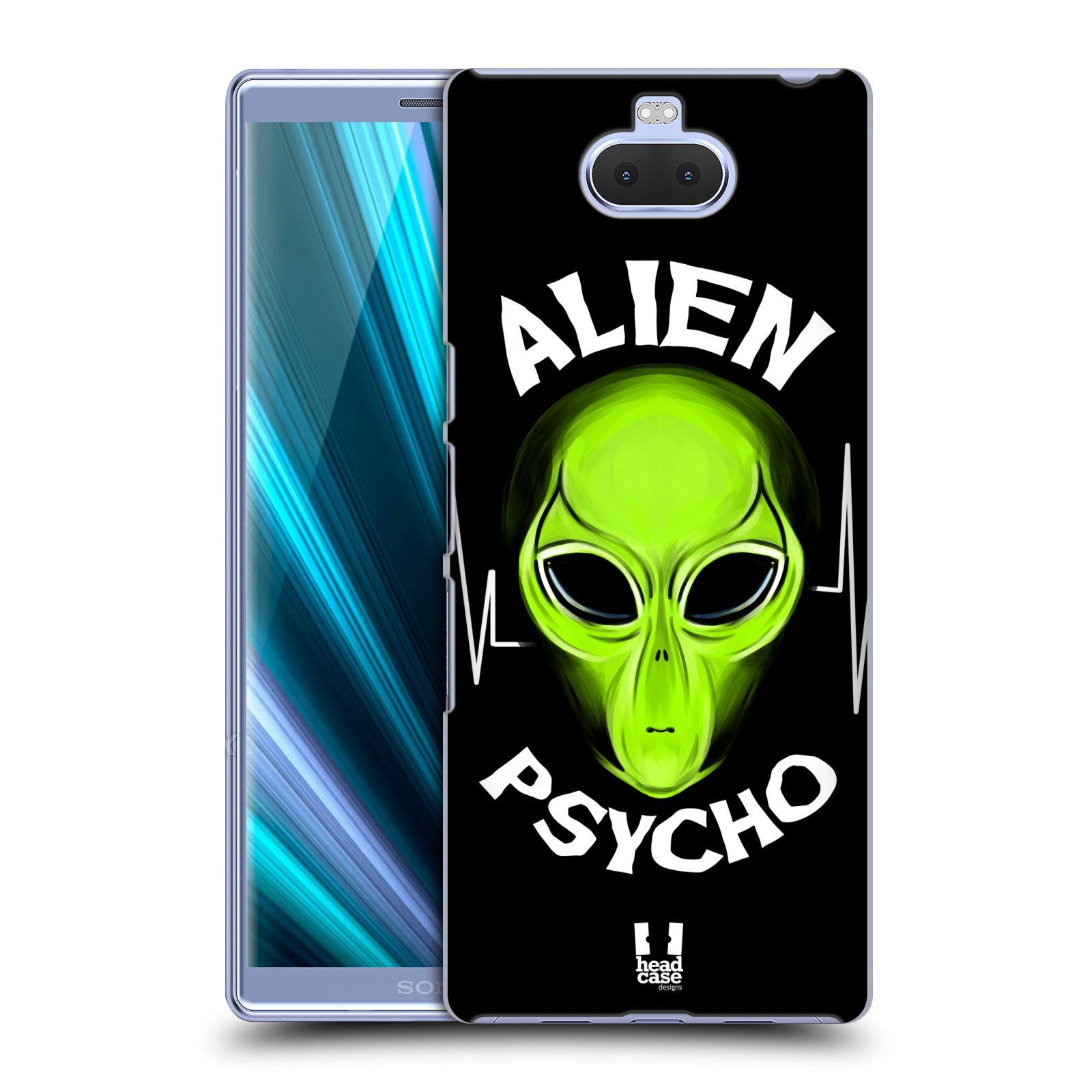 Plastové pouzdro na mobil Sony Xperia 10 - Head Case - ALIENS PSYCHO