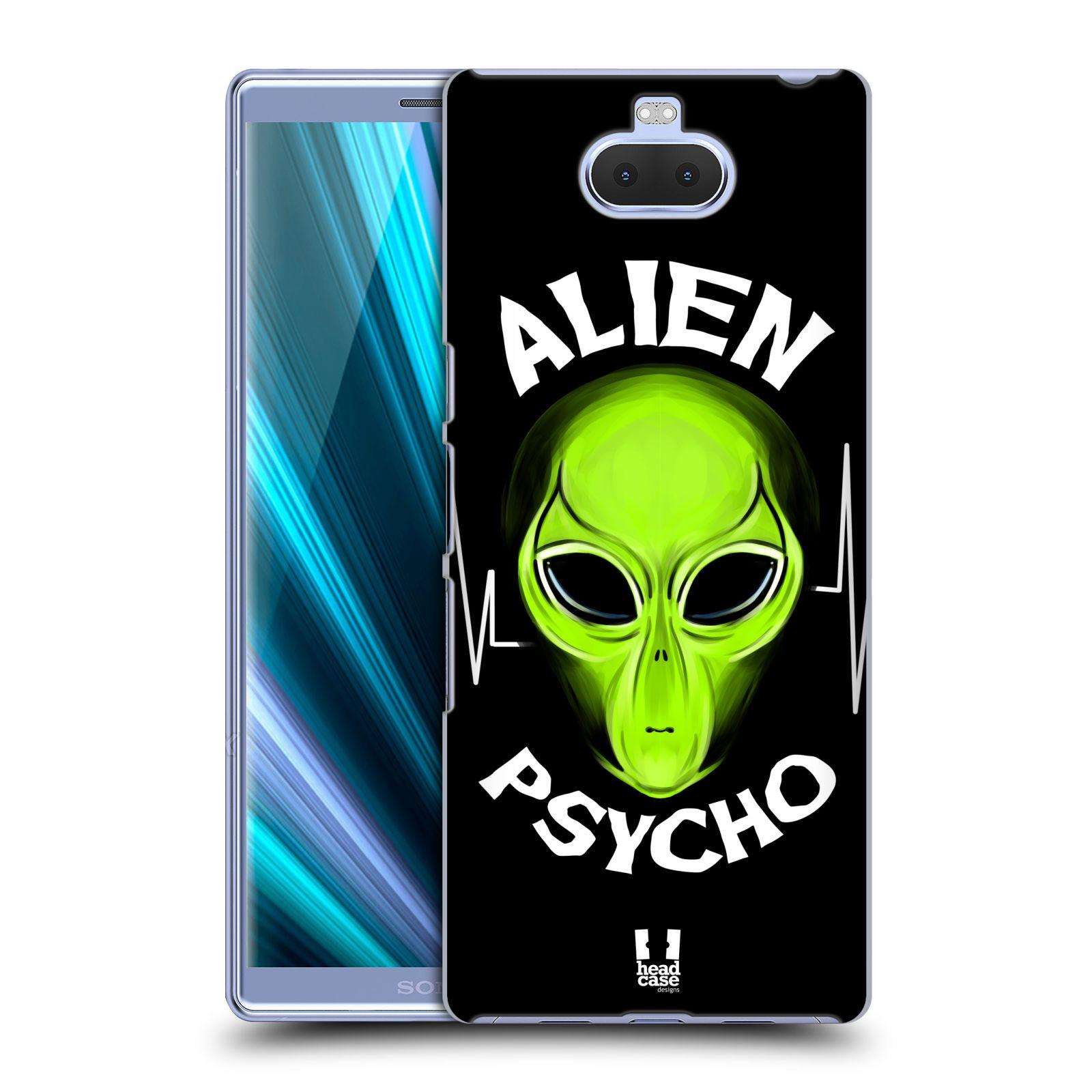 Plastové pouzdro na mobil Sony Xperia 10 Plus - Head Case - ALIENS PSYCHO