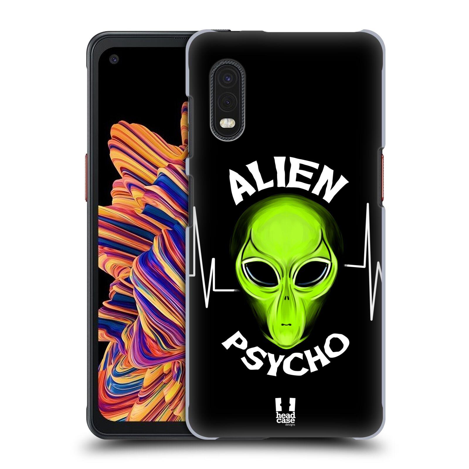 Plastové pouzdro na mobil Samsung Galaxy Xcover Pro - Head Case - ALIENS PSYCHO