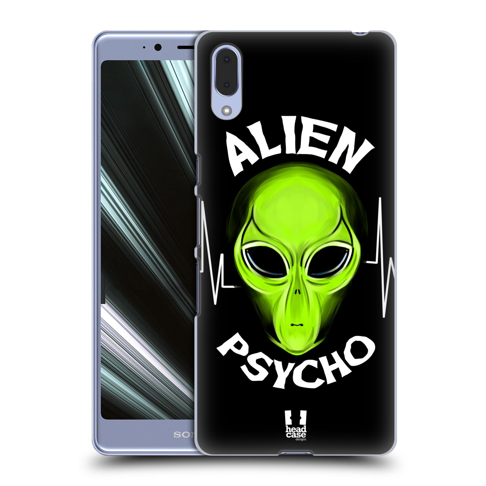 Plastové pouzdro na mobil Sony Xperia L3 - Head Case - ALIENS PSYCHO