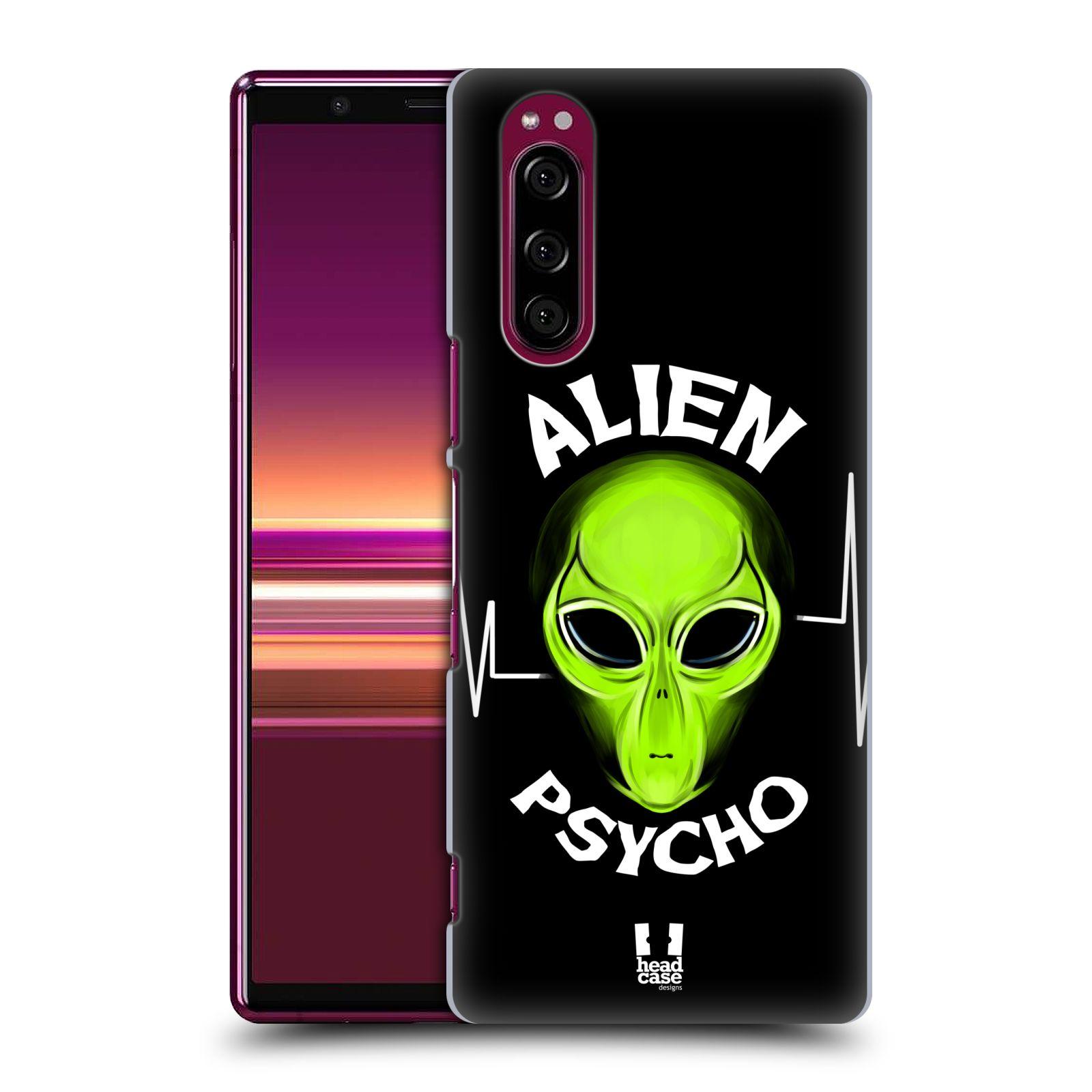 Plastové pouzdro na mobil Sony Xperia 5 - Head Case - ALIENS PSYCHO