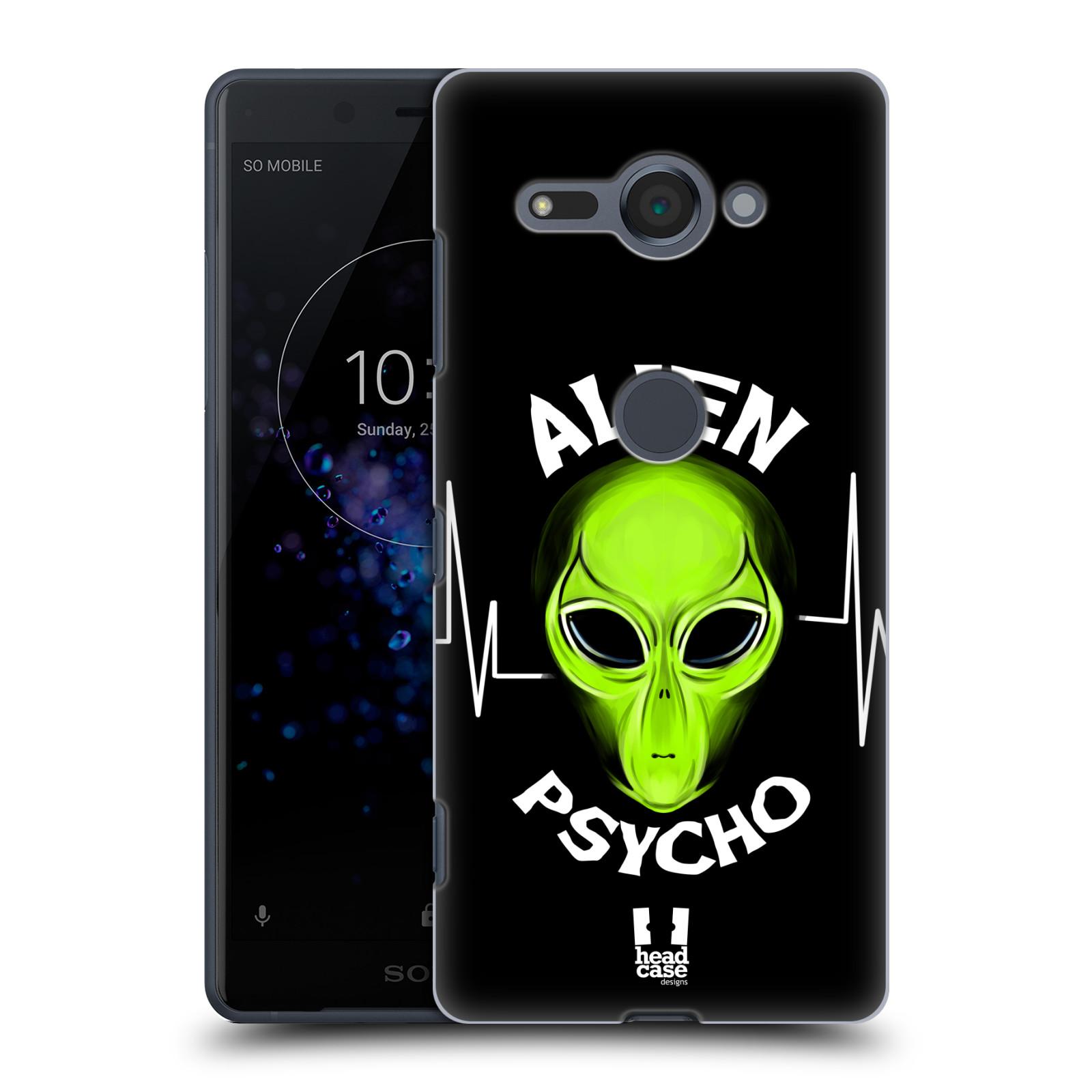 Plastové pouzdro na mobil Sony Xperia XZ2 Compact - Head Case - ALIENS PSYCHO