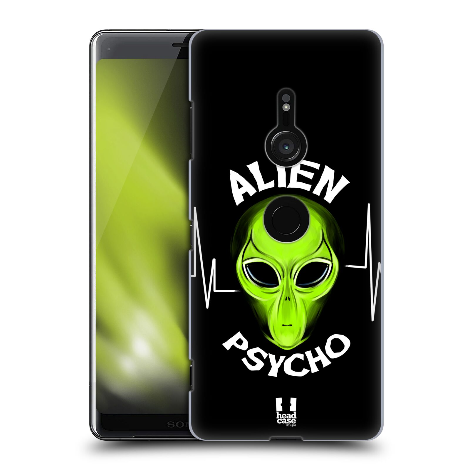 Plastové pouzdro na mobil Sony Xperia XZ3 - Head Case - ALIENS PSYCHO