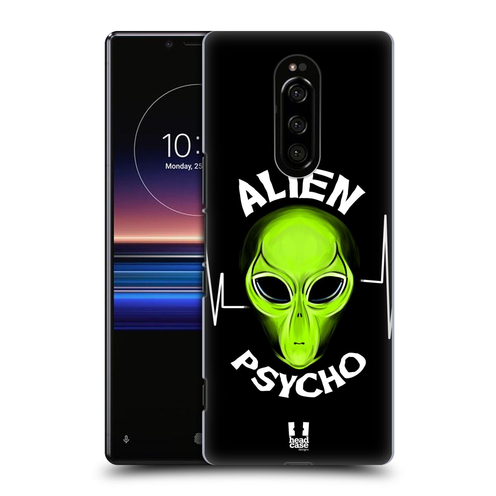 Plastové pouzdro na mobil Sony Xperia 1 - Head Case - ALIENS PSYCHO