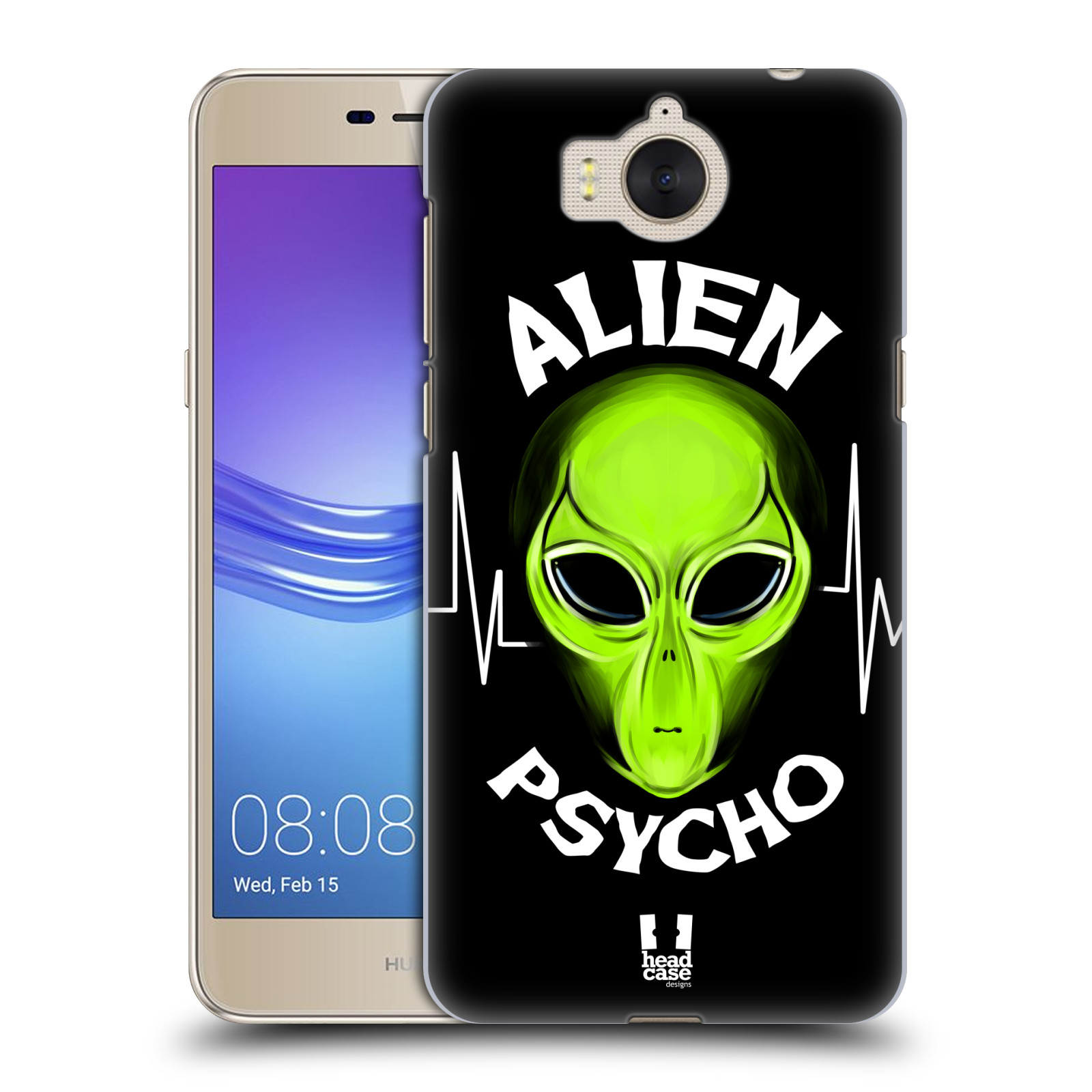 Plastové pouzdro na mobil Huawei Y6 2017 - Head Case - ALIENS PSYCHO