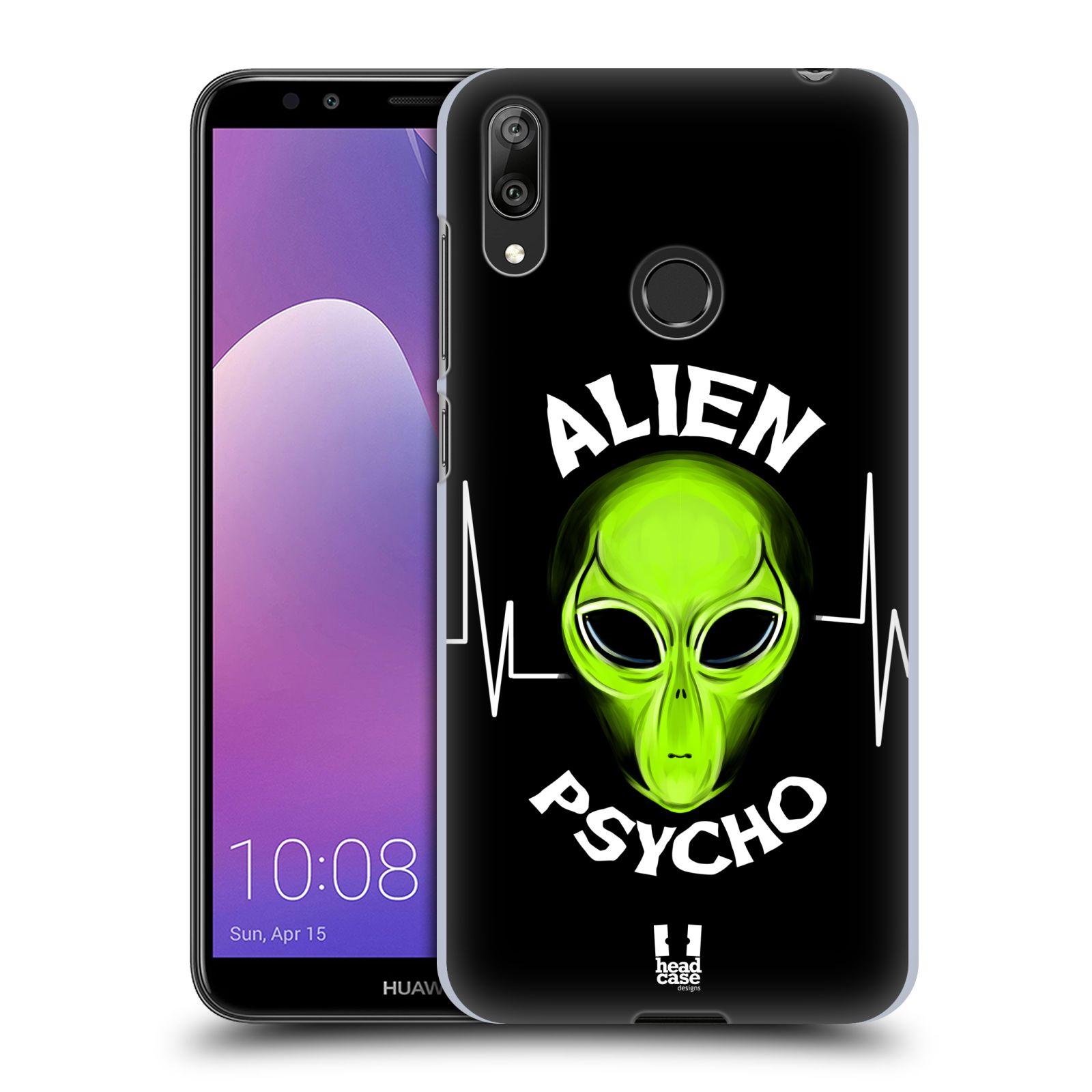 Plastové pouzdro na mobil Huawei Y7 (2019) - Head Case - ALIENS PSYCHO