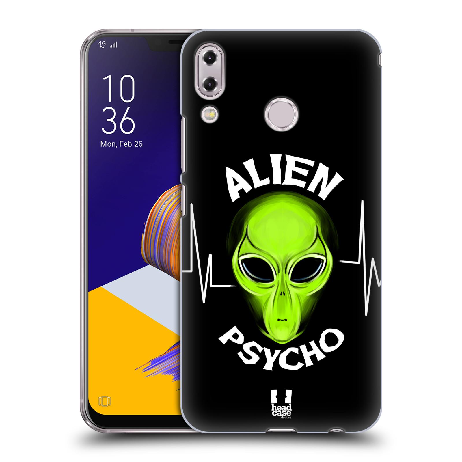 Plastové pouzdro na mobil Asus Zenfone 5z ZS620KL - Head Case - ALIENS PSYCHO