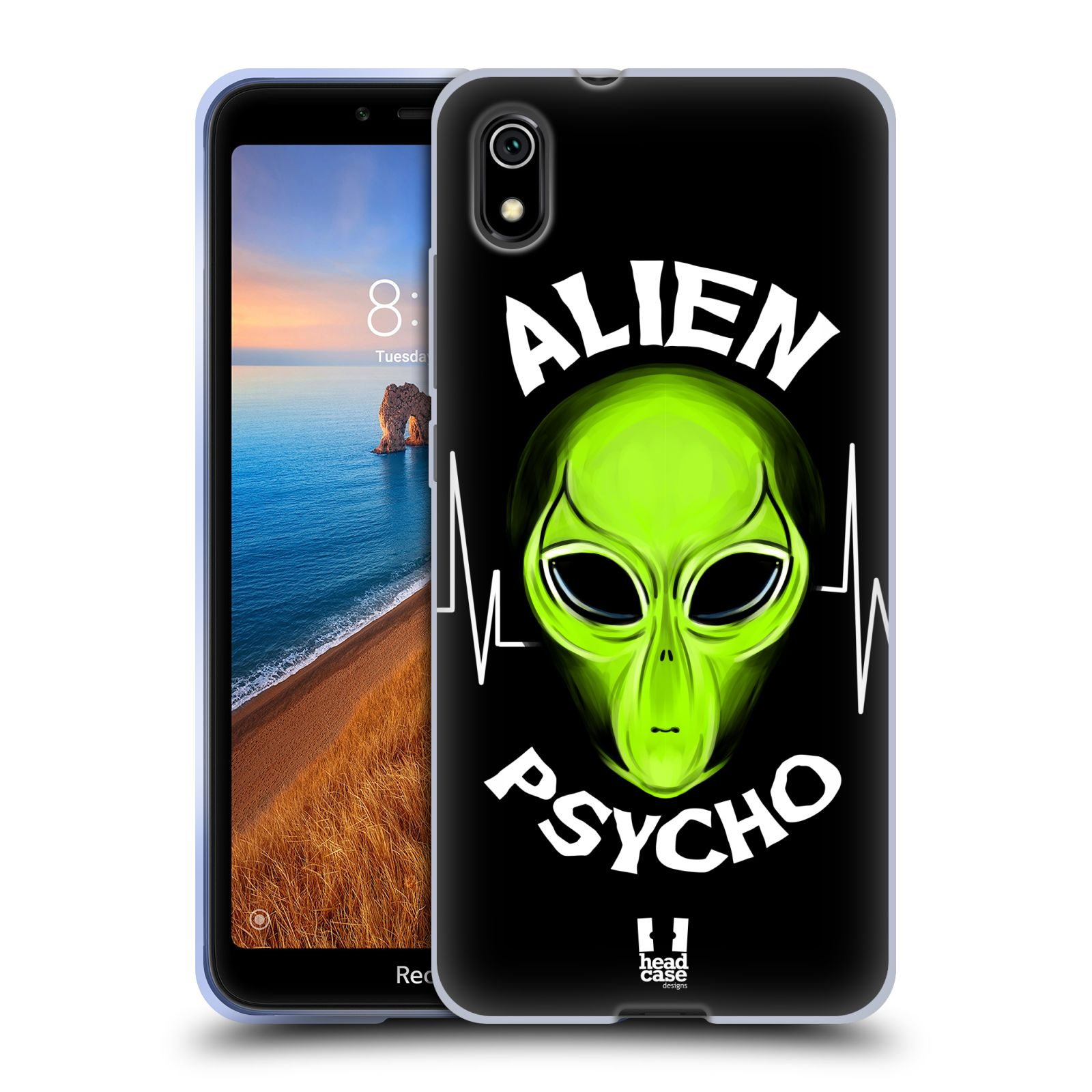 Silikonové pouzdro na mobil Redmi 7A - Head Case - ALIENS PSYCHO