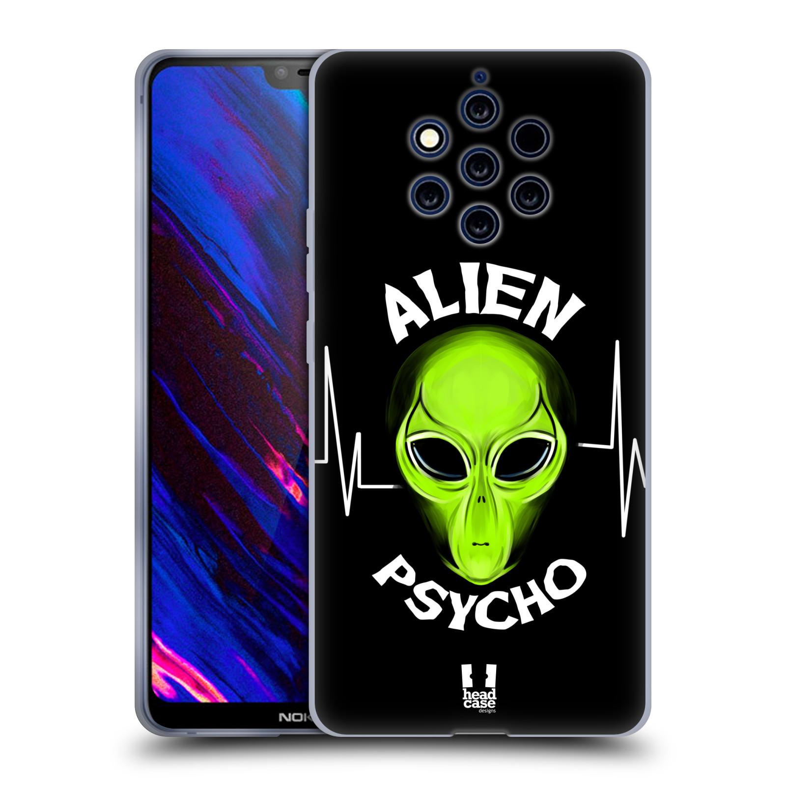 Silikonové pouzdro na mobil Nokia 9 PureView - Head Case - ALIENS PSYCHO