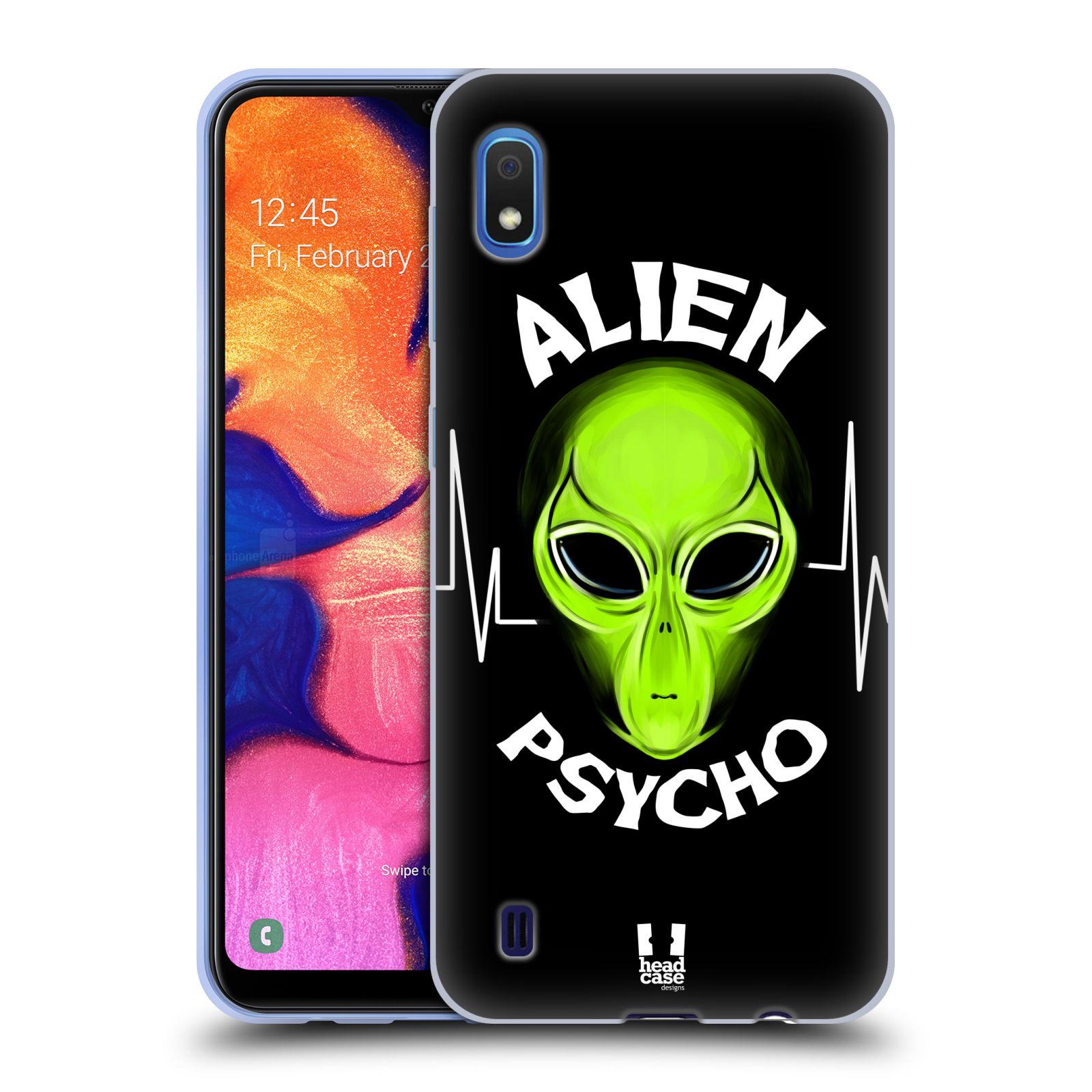 Silikonové pouzdro na mobil Samsung Galaxy A10 - Head Case - ALIENS PSYCHO