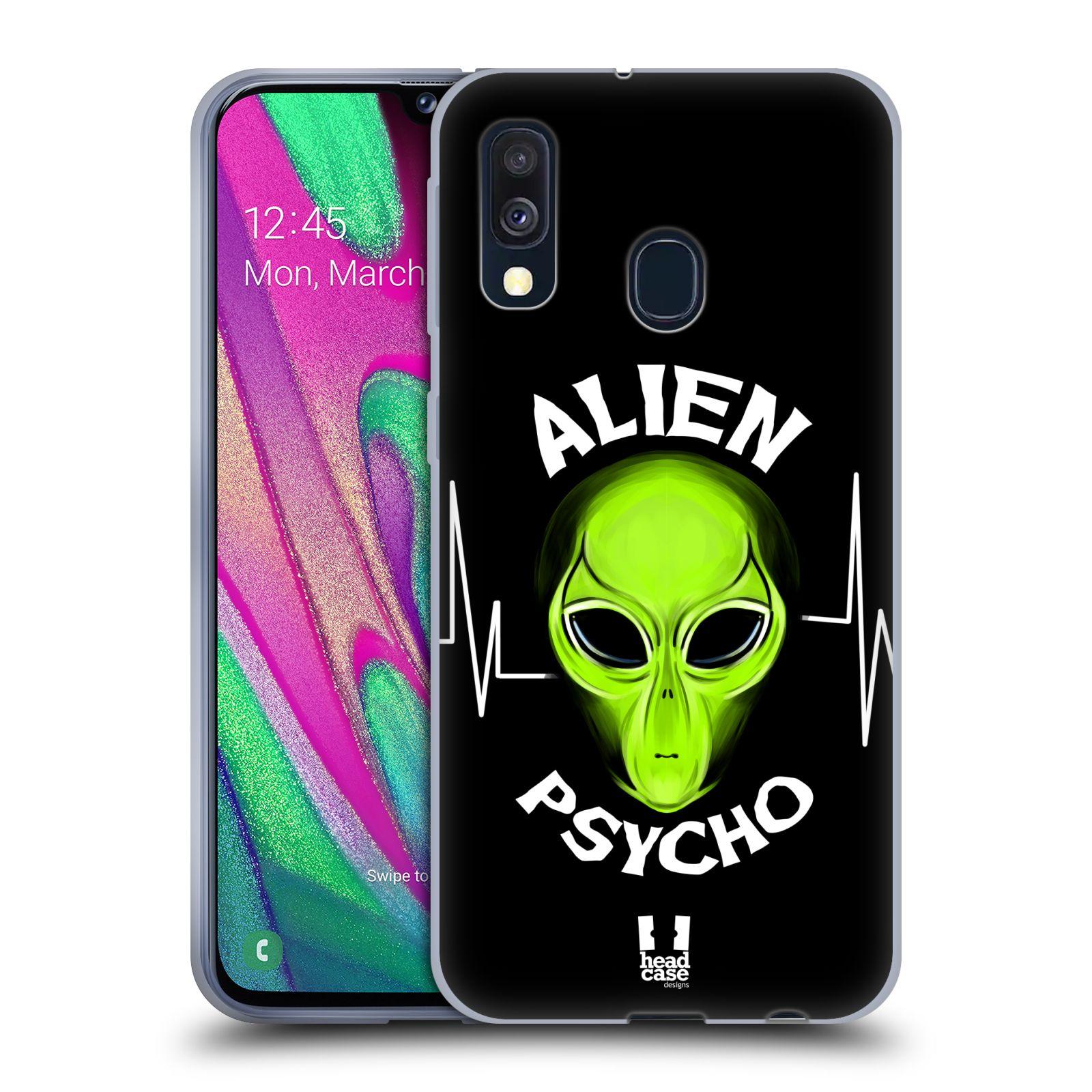 Silikonové pouzdro na mobil Samsung Galaxy A40 - Head Case - ALIENS PSYCHO