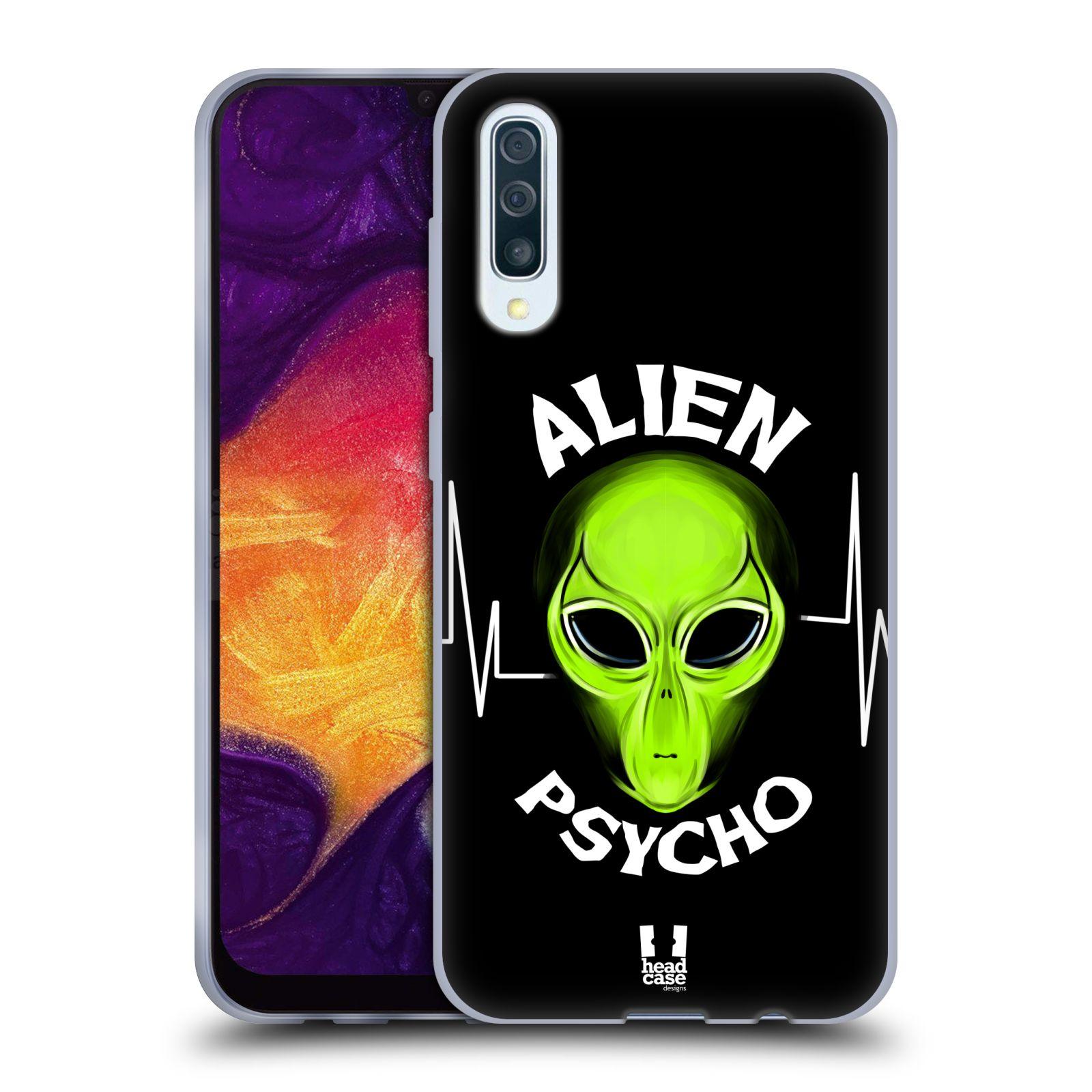 Silikonové pouzdro na mobil Samsung Galaxy A50 / A30s - Head Case - ALIENS PSYCHO