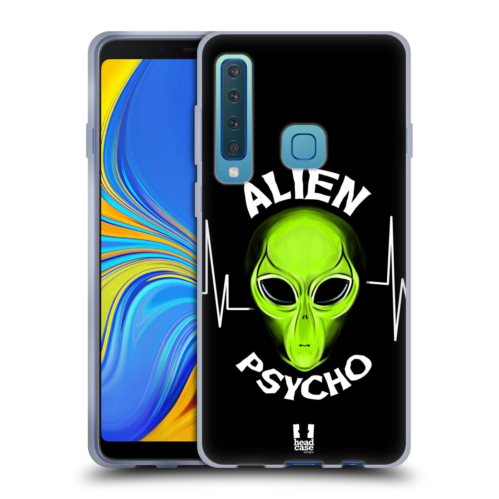 Silikonové pouzdro na mobil Samsung Galaxy A9 (2018) - Head Case - ALIENS PSYCHO