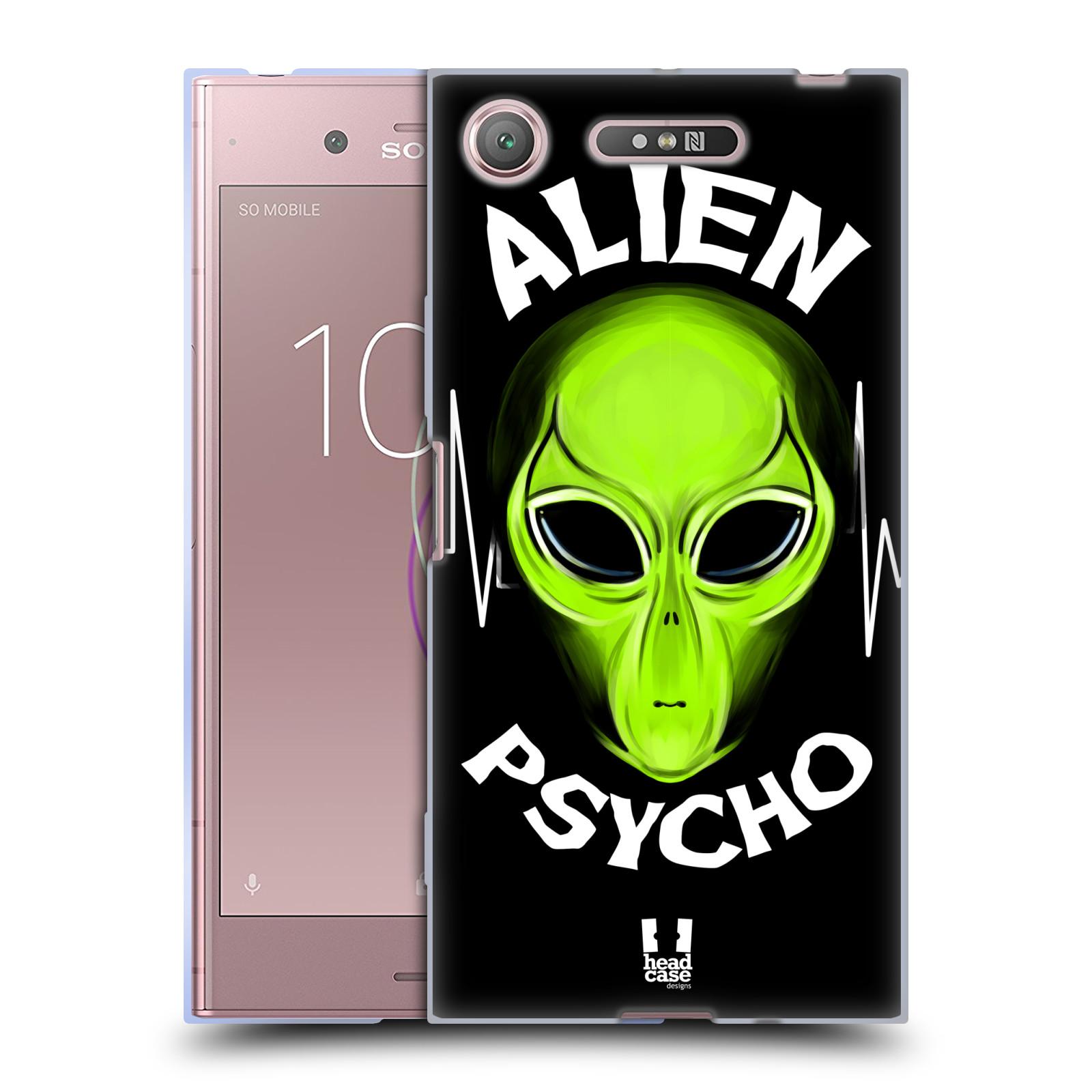 Silikonové pouzdro na mobil Sony Xperia XZ1 - Head Case - ALIENS PSYCHO