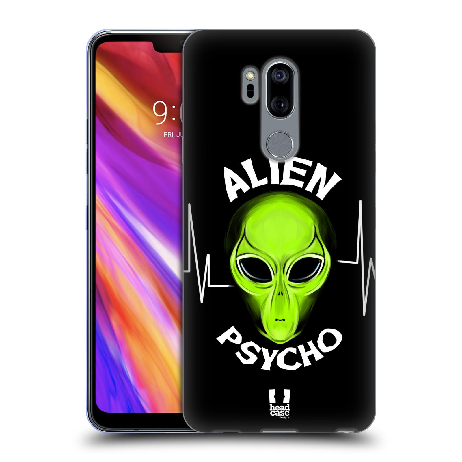Silikonové pouzdro na mobil LG G7 ThinQ - Head Case - ALIENS PSYCHO