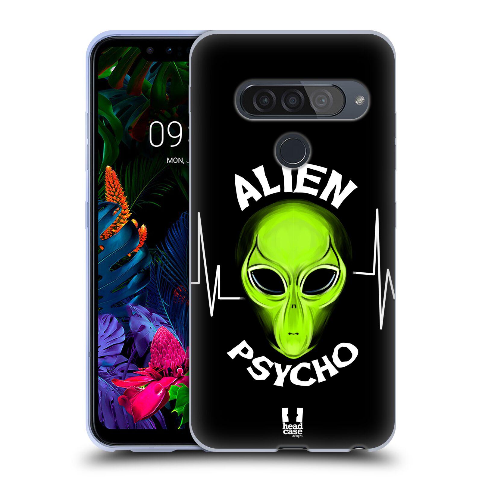 Silikonové pouzdro na mobil LG G8s ThinQ - Head Case - ALIENS PSYCHO