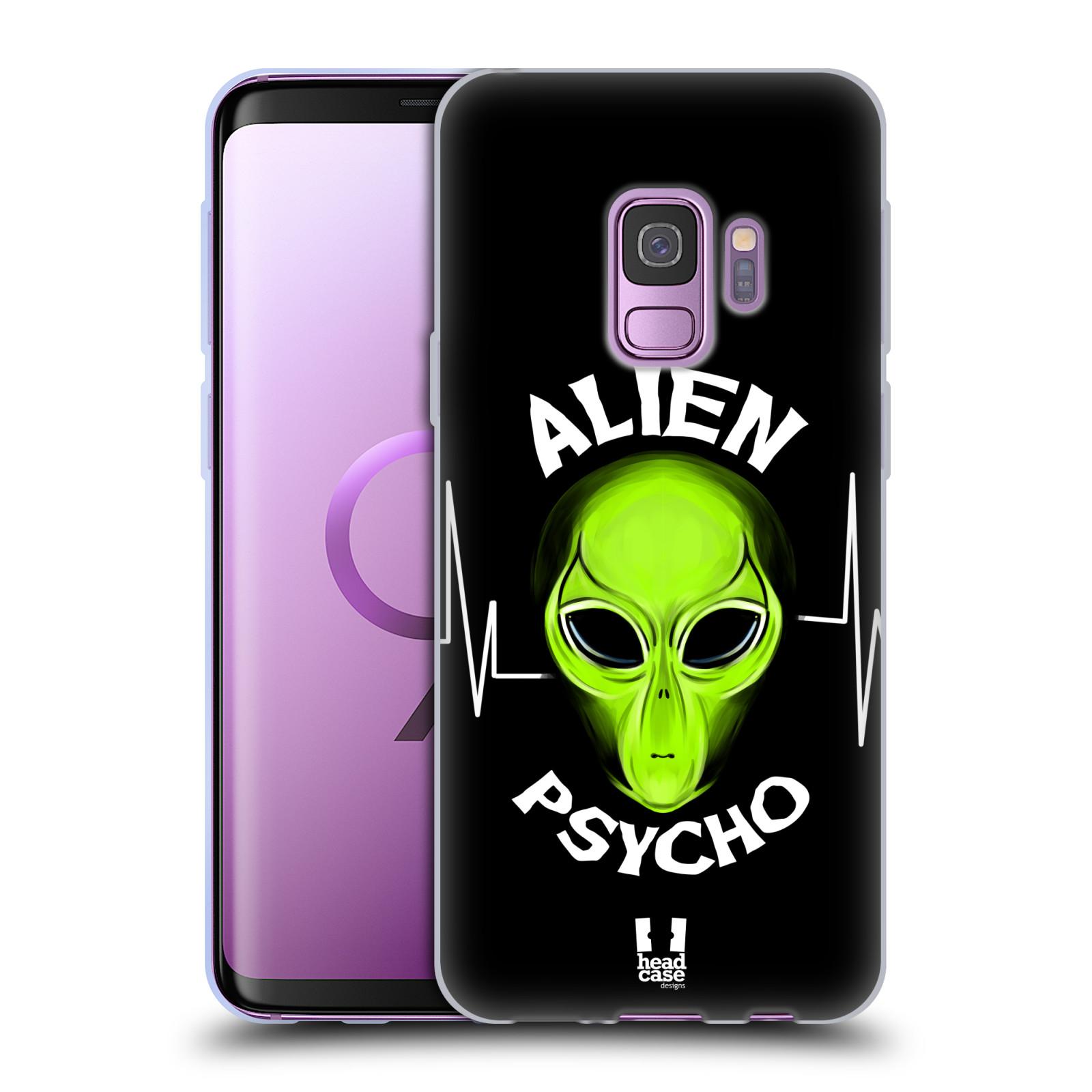 Silikonové pouzdro na mobil Samsung Galaxy S9 - Head Case - ALIENS PSYCHO