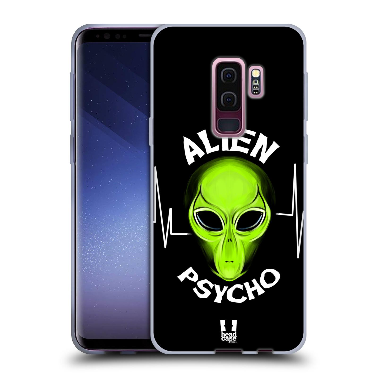 Silikonové pouzdro na mobil Samsung Galaxy S9 Plus - Head Case - ALIENS PSYCHO