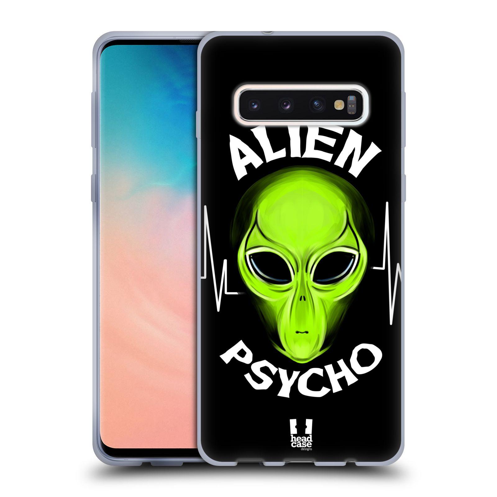 Silikonové pouzdro na mobil Samsung Galaxy S10 - Head Case - ALIENS PSYCHO