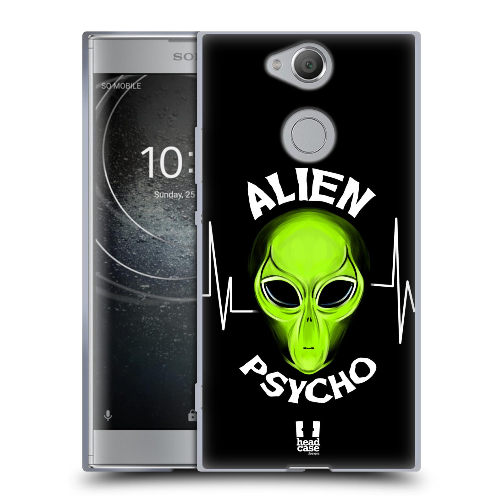 Silikonové pouzdro na mobil Sony Xperia XA2 - Head Case - ALIENS PSYCHO