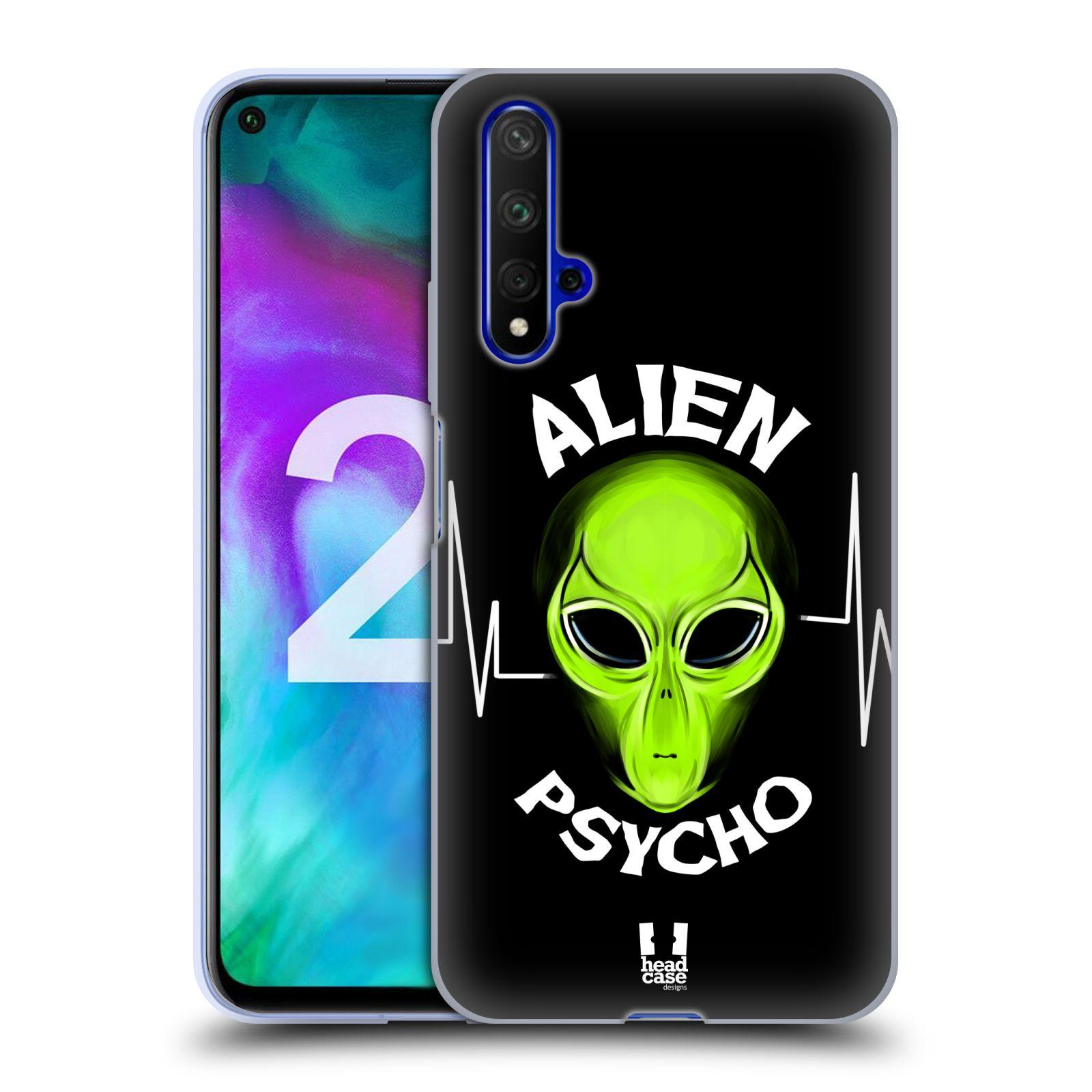 Silikonové pouzdro na mobil Honor 20 - Head Case - ALIENS PSYCHO
