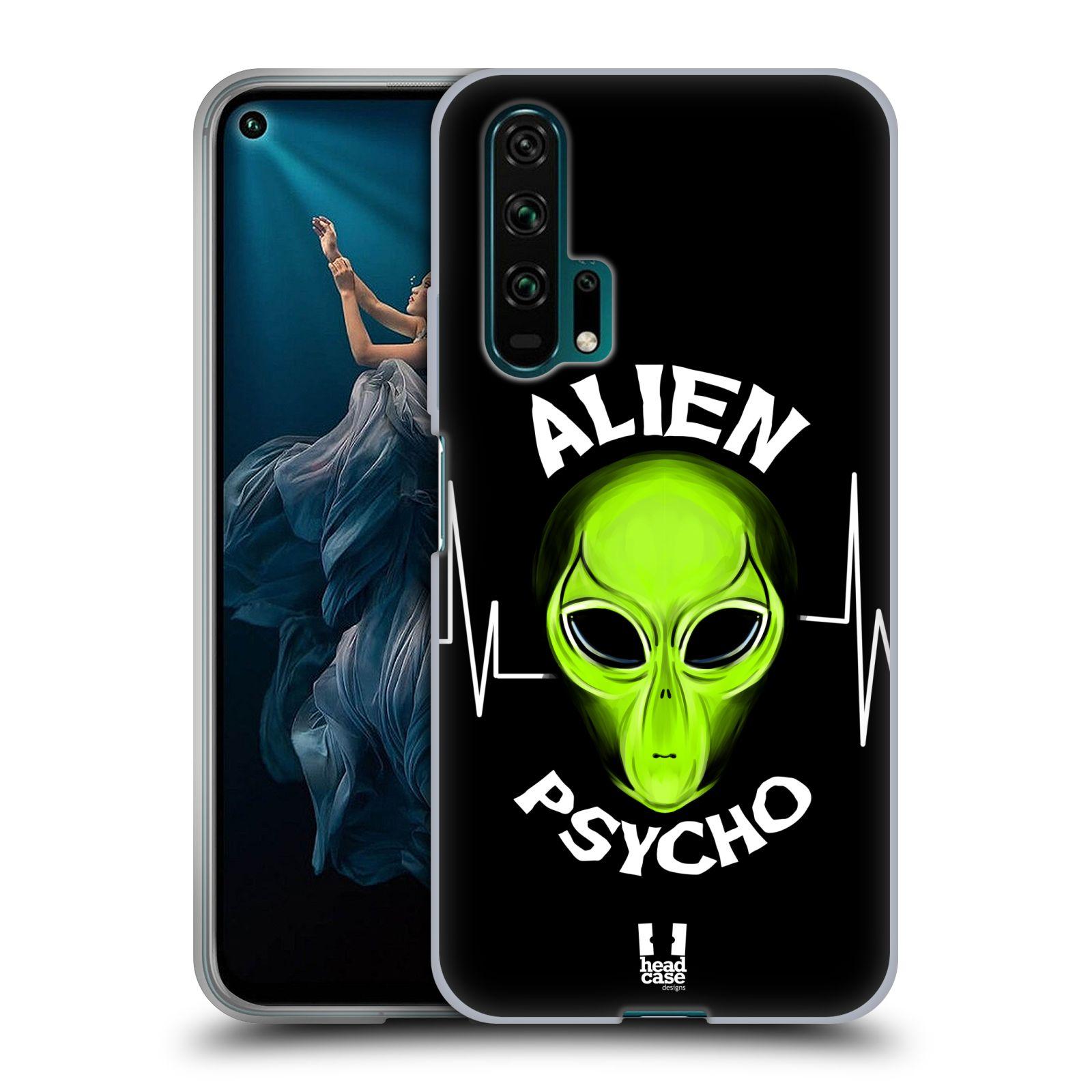 Silikonové pouzdro na mobil Honor 20 Pro - Head Case - ALIENS PSYCHO