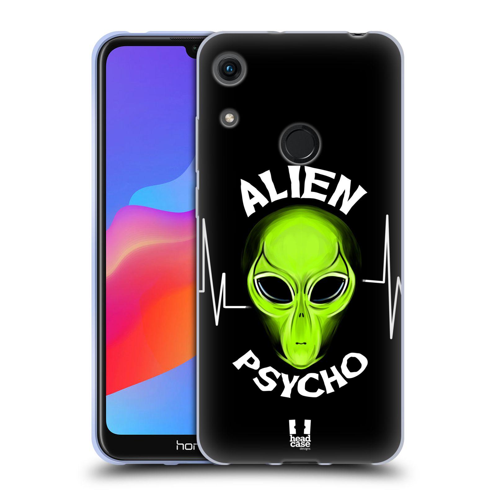 Silikonové pouzdro na mobil Honor 8A - Head Case - ALIENS PSYCHO
