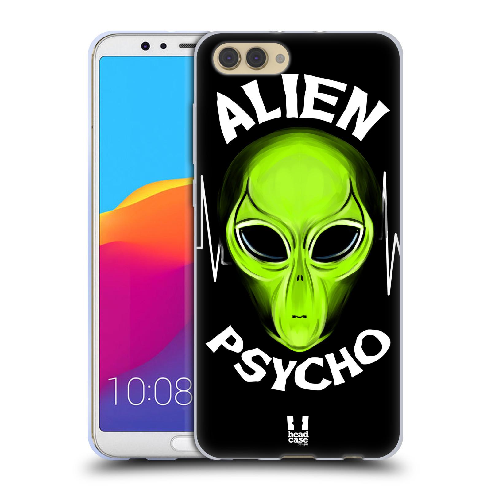 Silikonové pouzdro na mobil Honor View 10 - Head Case - ALIENS PSYCHO