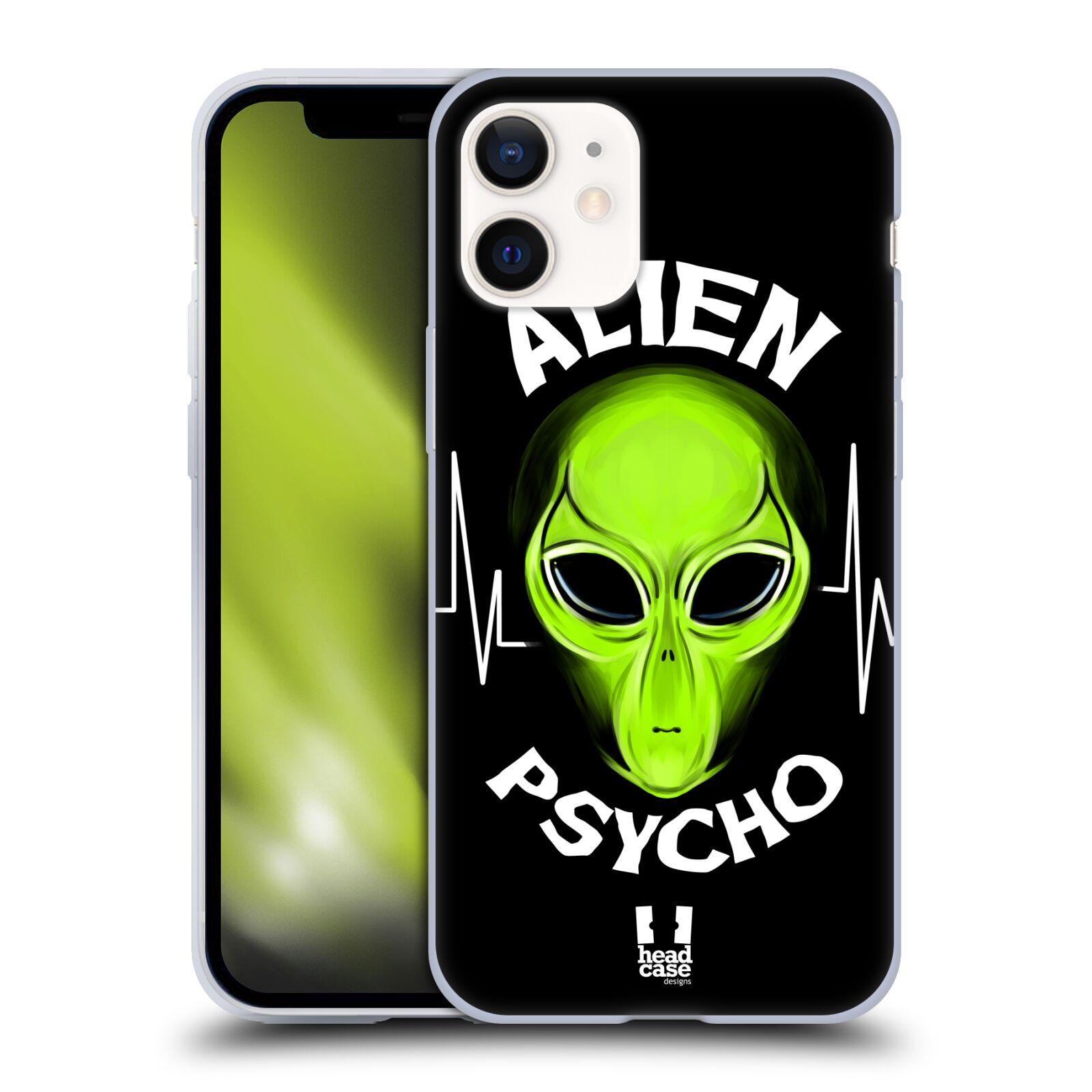 Silikonové pouzdro na mobil Apple iPhone 12 Mini - Head Case - ALIENS PSYCHO
