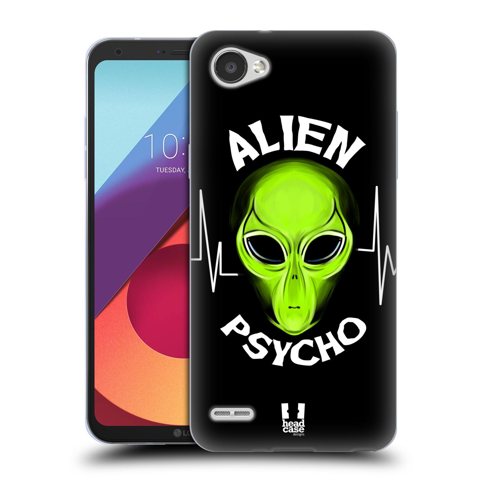 Silikonové pouzdro na mobil LG Q6 - Head Case - ALIENS PSYCHO